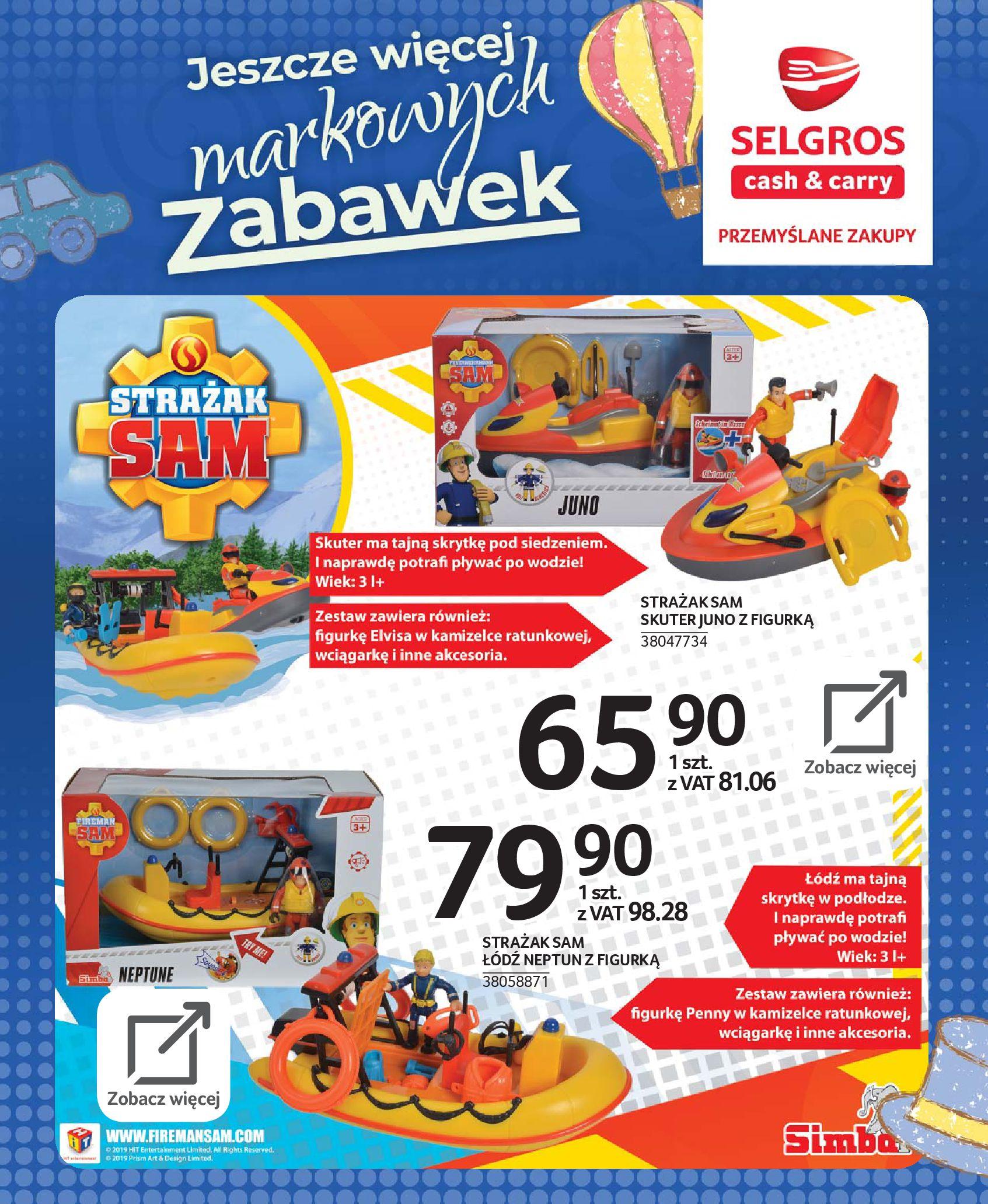 Gazetka Selgros - Katalog zabawek-20.11.2019-24.12.2019-page-56