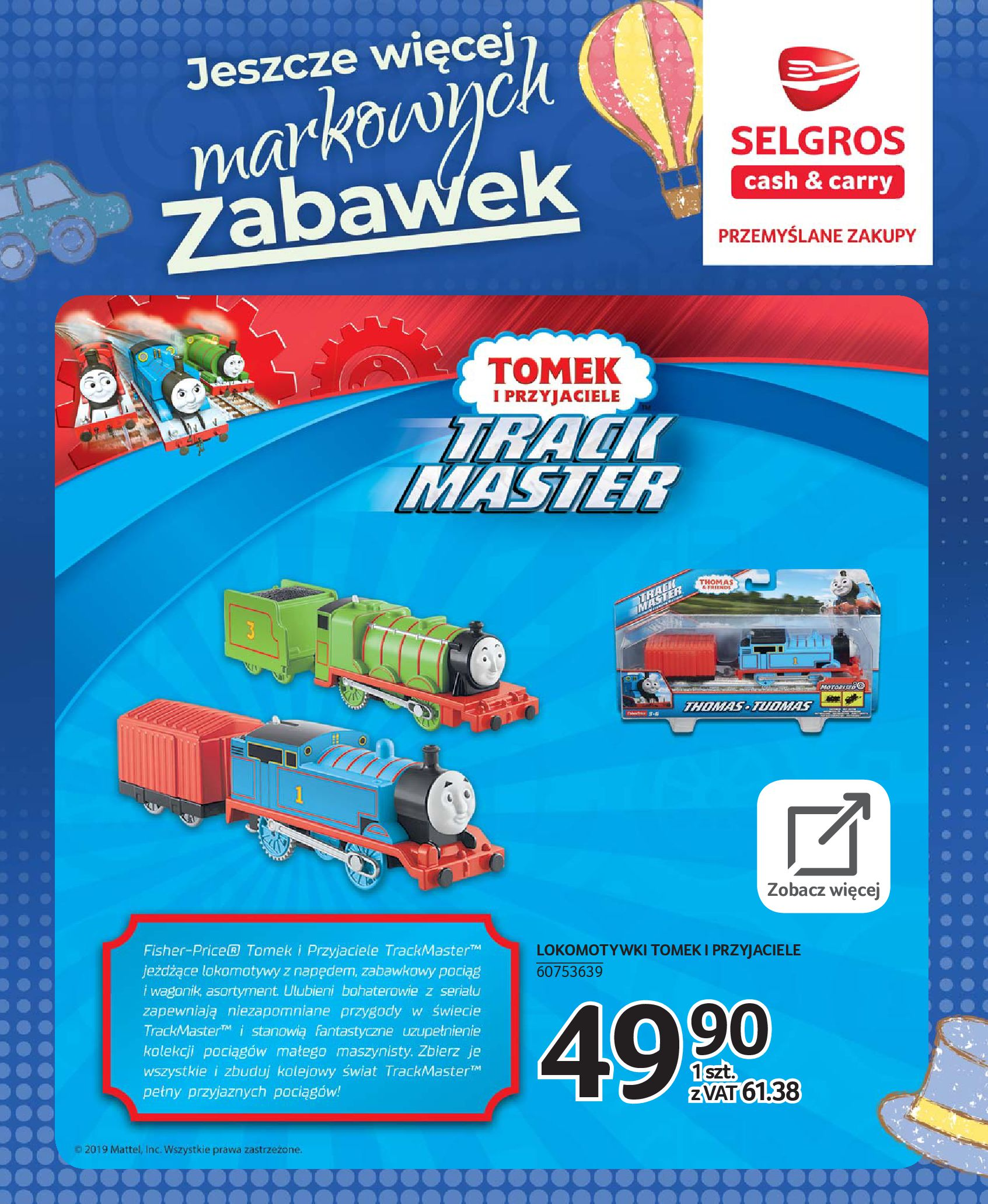 Gazetka Selgros - Katalog zabawek-20.11.2019-24.12.2019-page-57