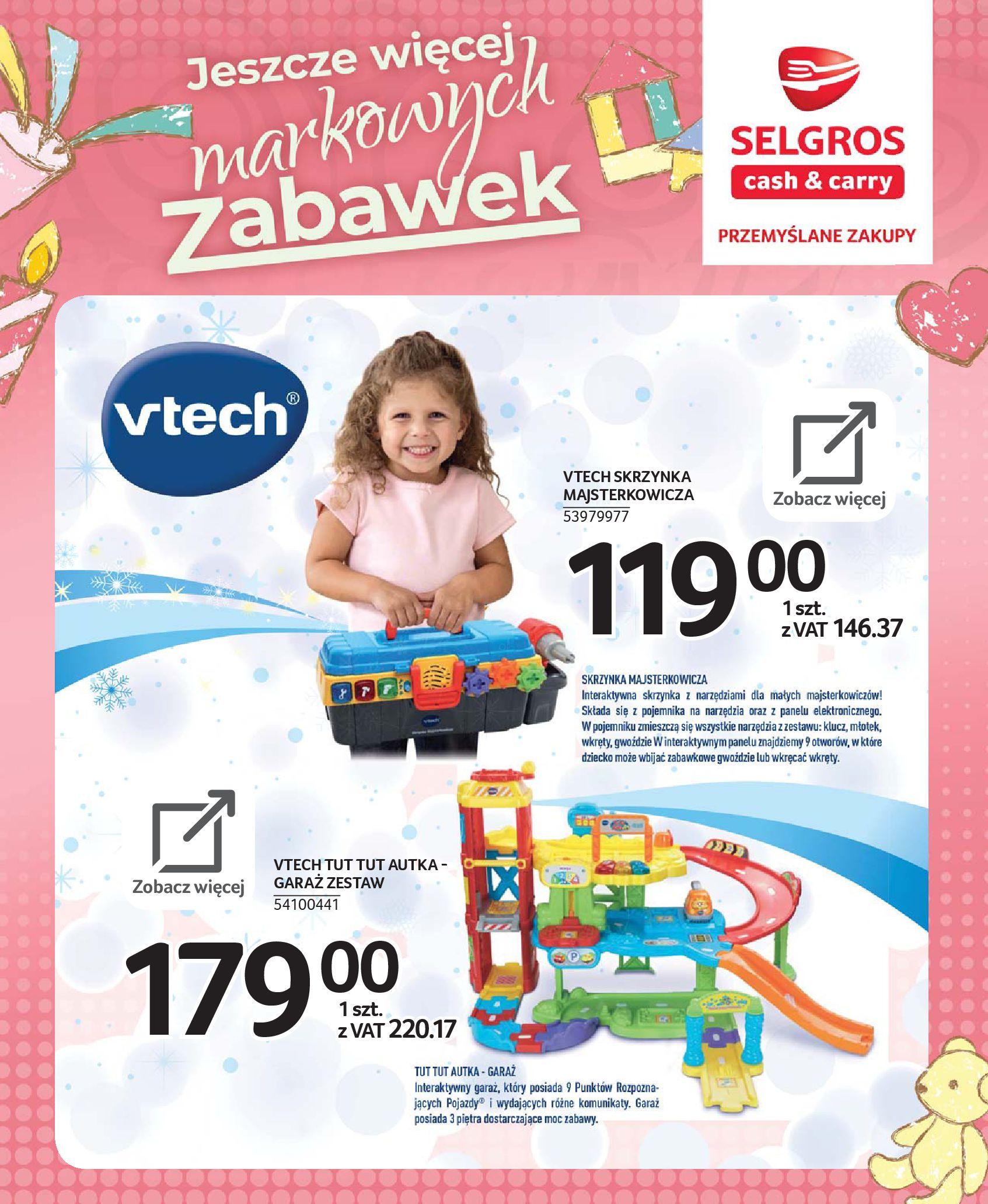Gazetka Selgros - Katalog zabawek-20.11.2019-24.12.2019-page-7