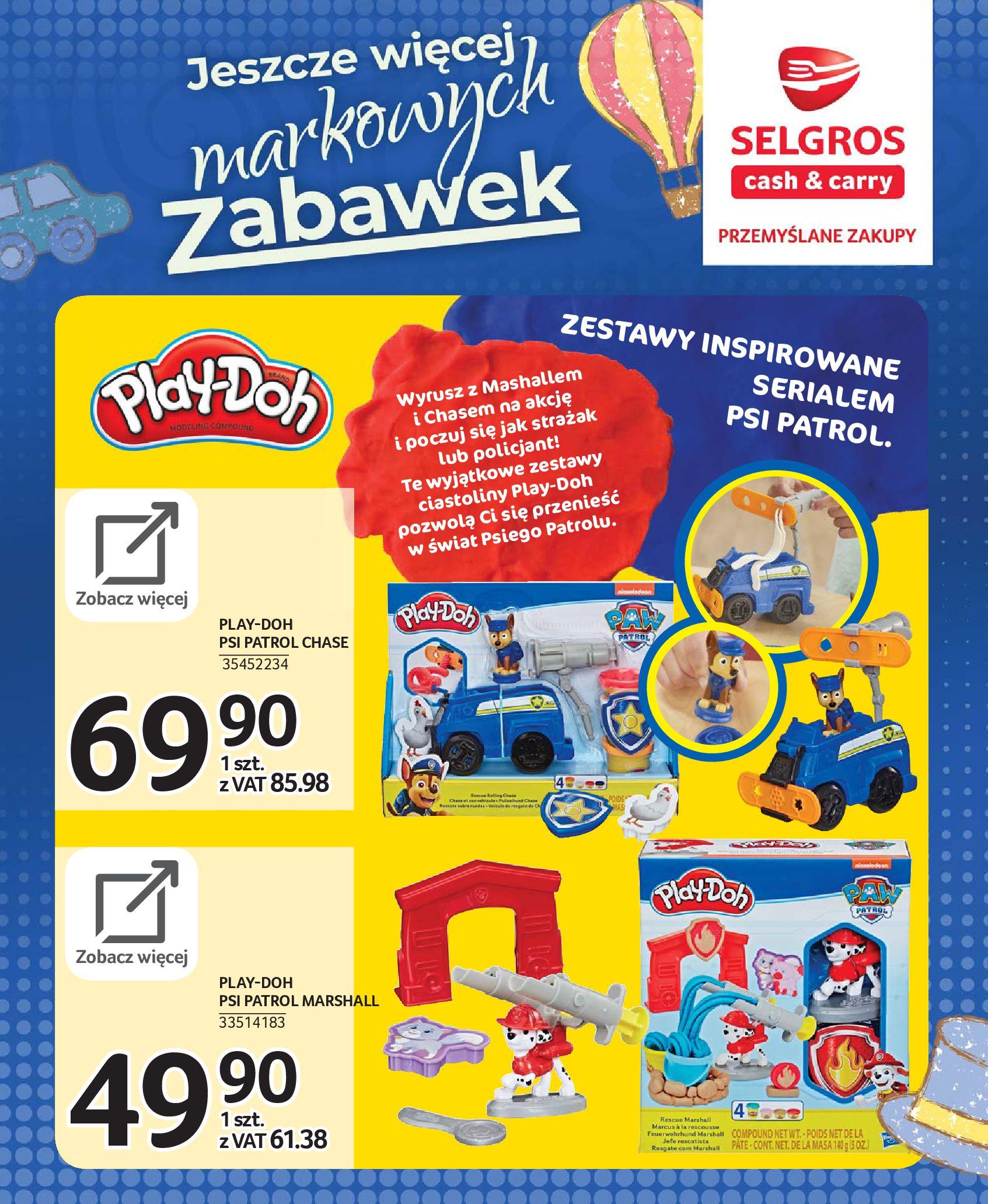 Gazetka Selgros - Katalog zabawek-20.11.2019-24.12.2019-page-62
