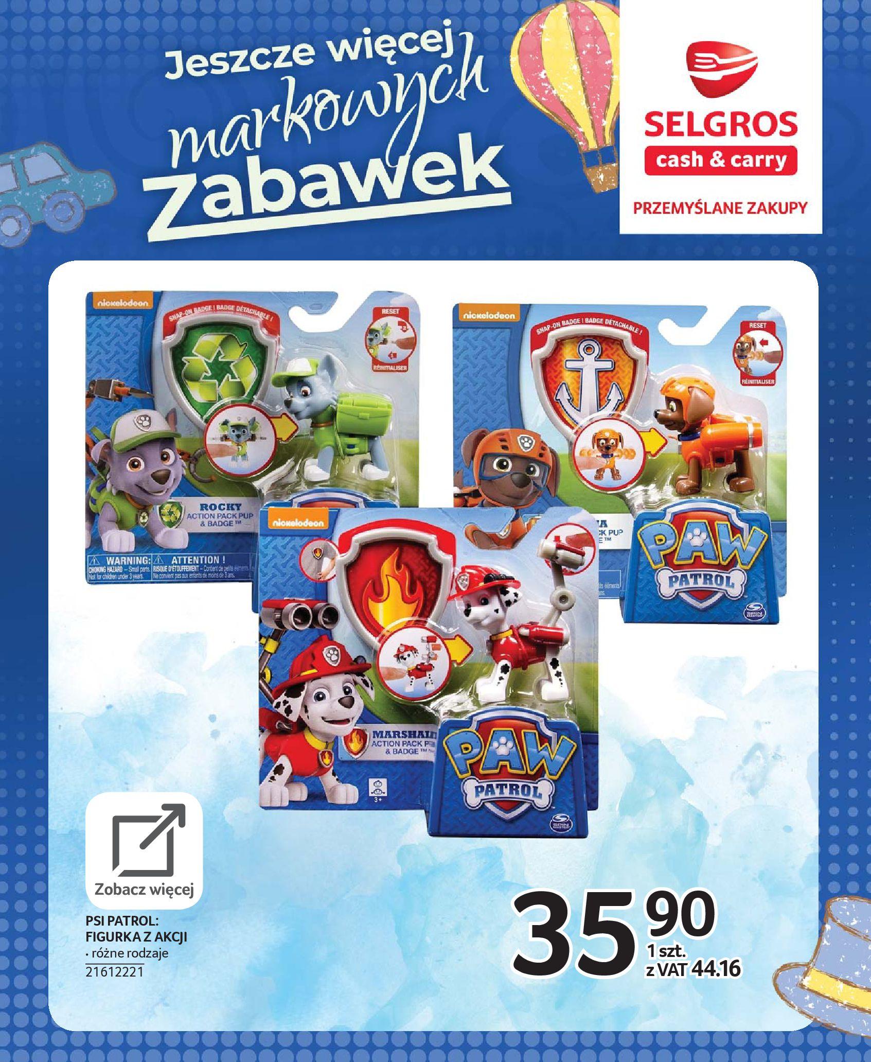 Gazetka Selgros - Katalog zabawek-20.11.2019-24.12.2019-page-63