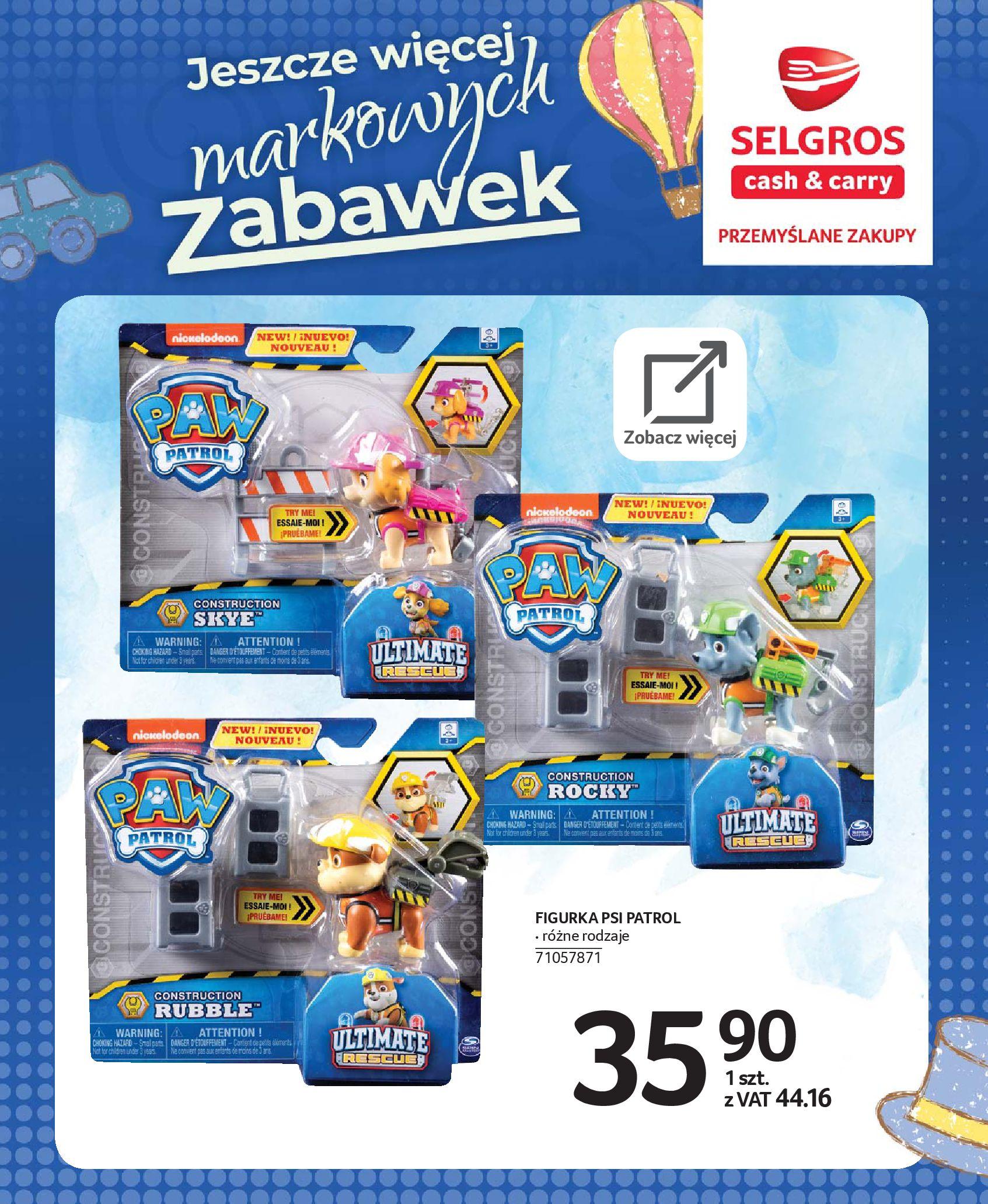 Gazetka Selgros - Katalog zabawek-20.11.2019-24.12.2019-page-64