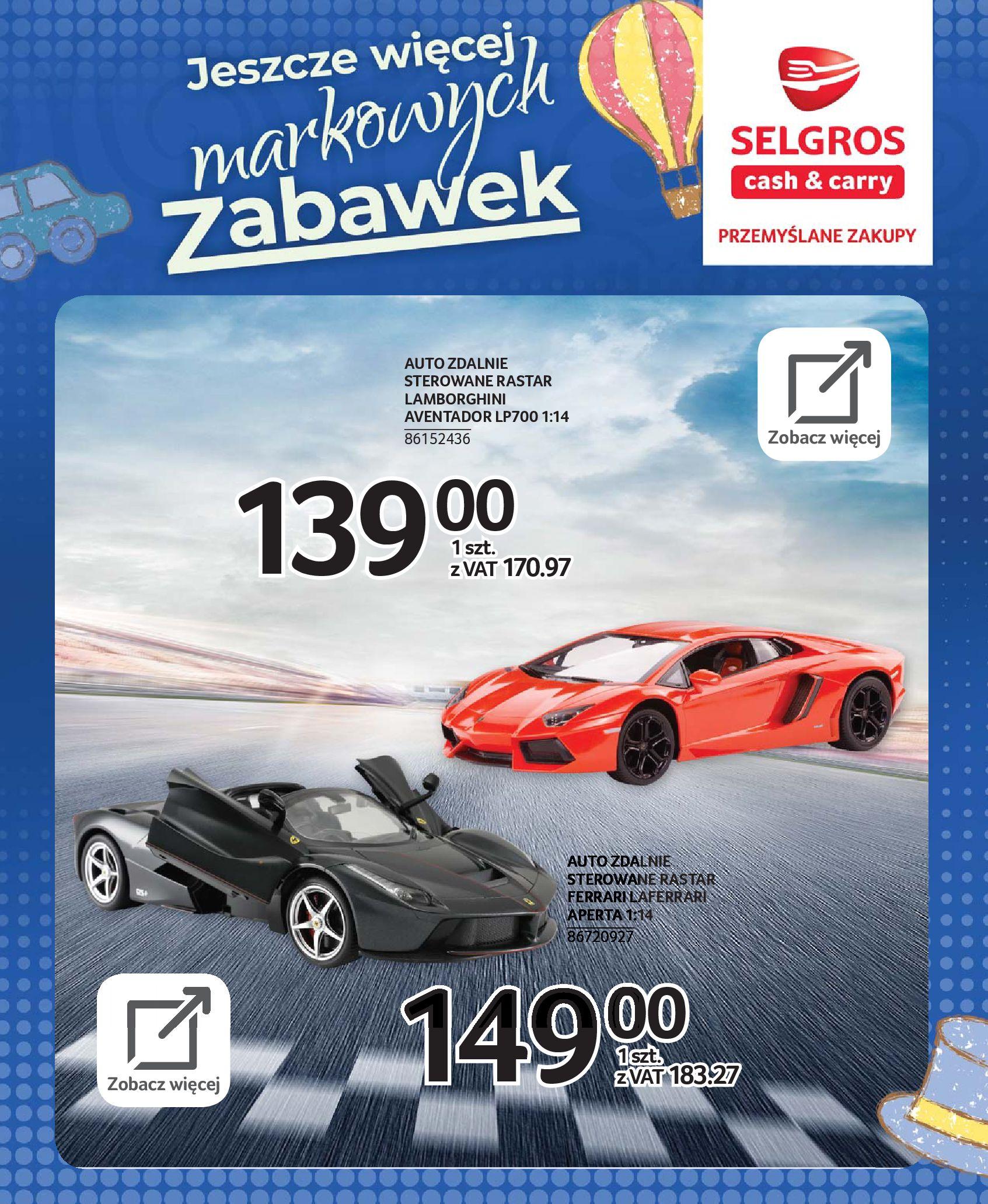 Gazetka Selgros - Katalog zabawek-20.11.2019-24.12.2019-page-66