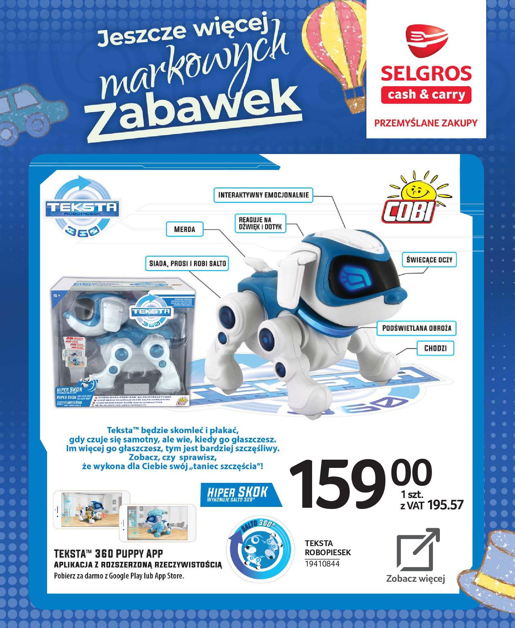Gazetka Selgros - Katalog zabawek-20.11.2019-24.12.2019-page-68