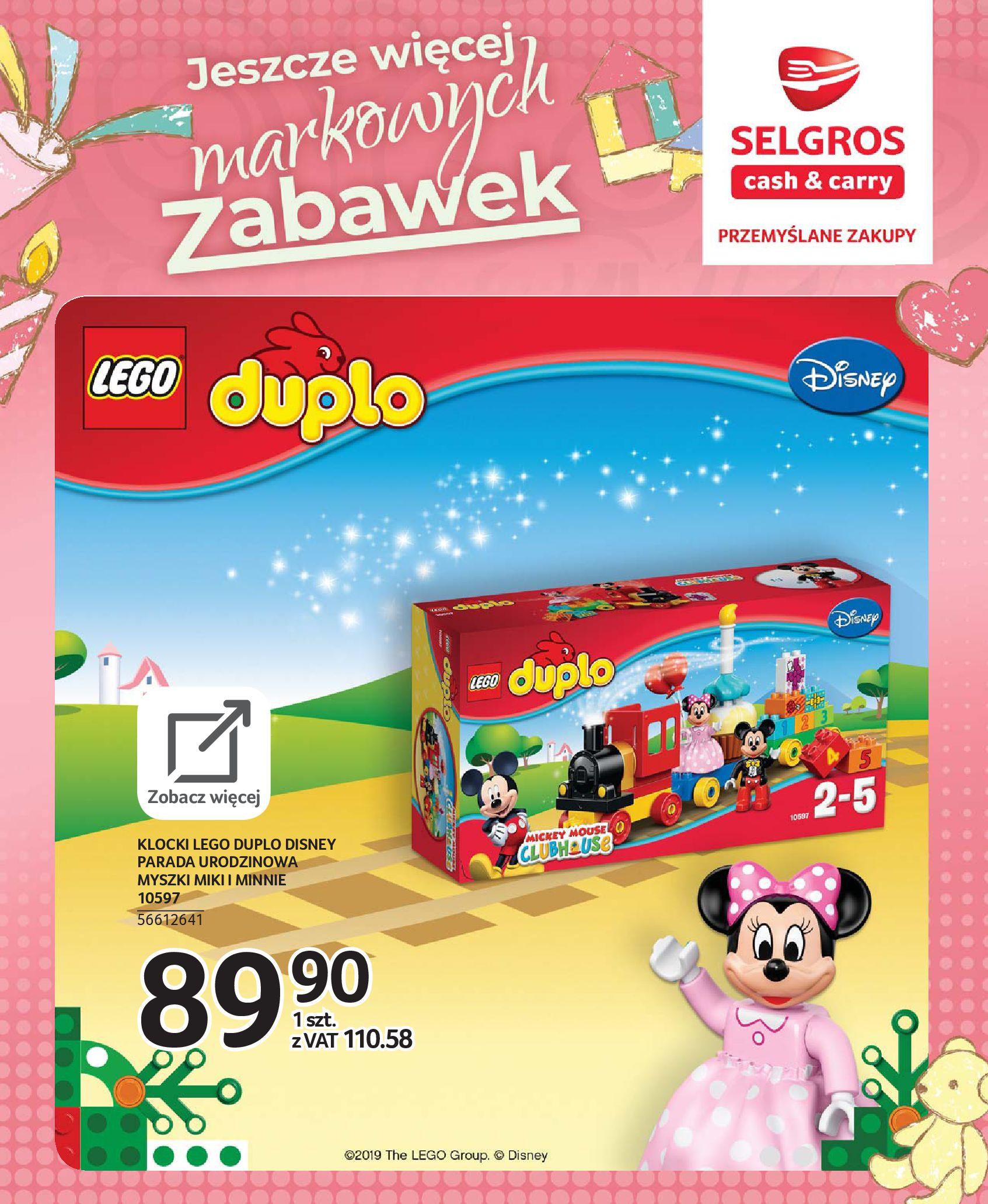 Gazetka Selgros - Katalog zabawek-20.11.2019-24.12.2019-page-70