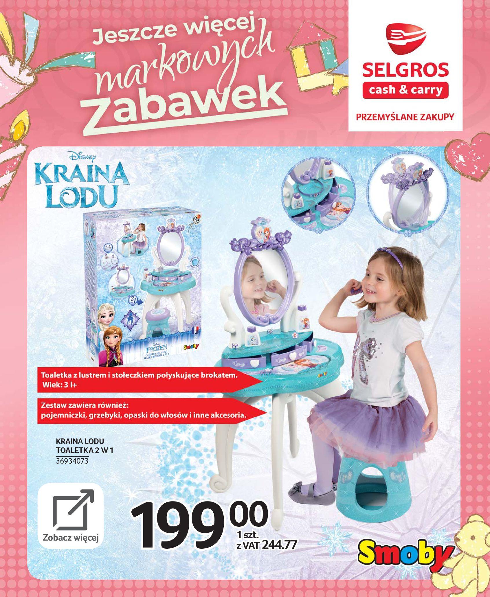 Gazetka Selgros - Katalog zabawek-20.11.2019-24.12.2019-page-8