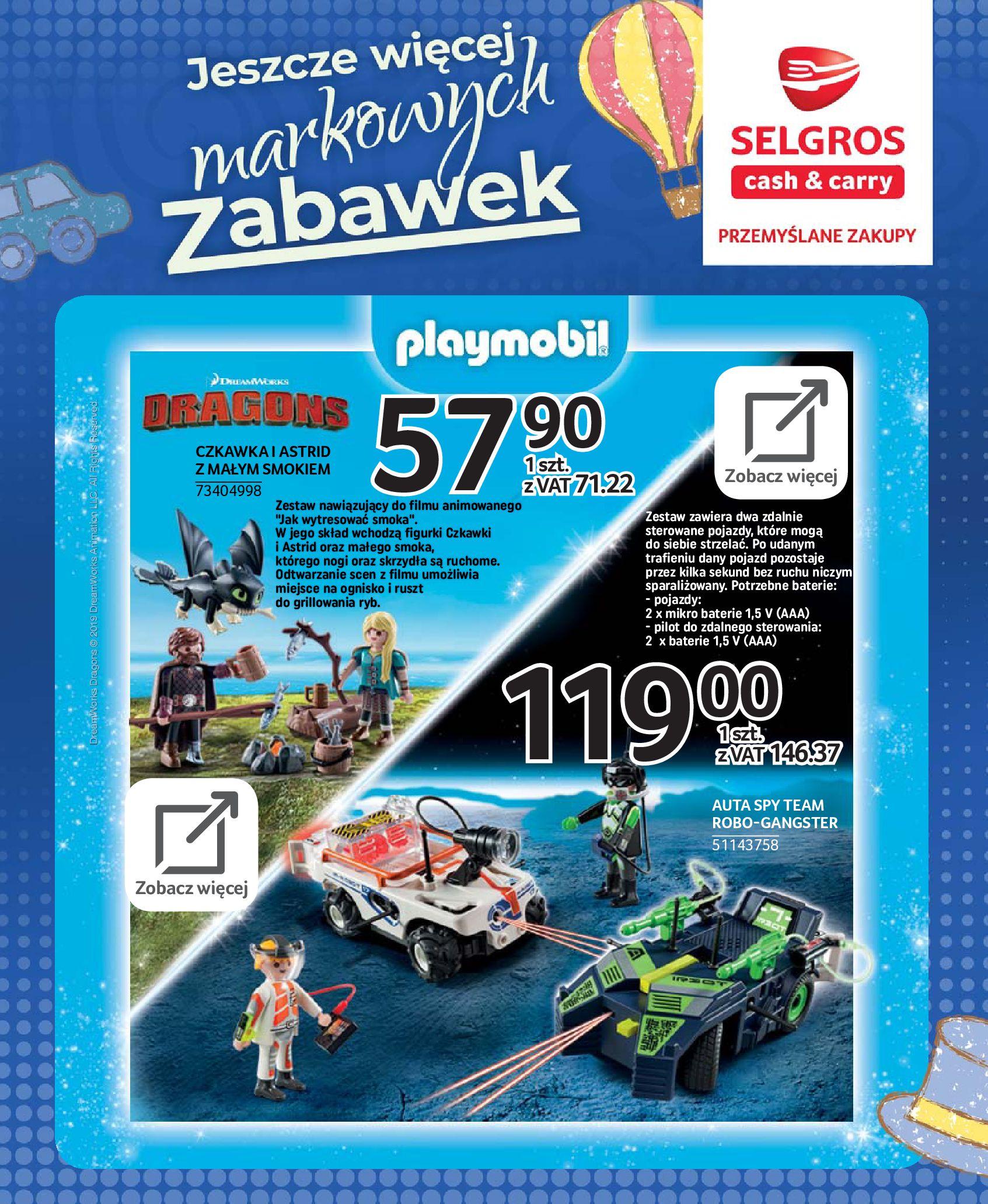 Gazetka Selgros - Katalog zabawek-20.11.2019-24.12.2019-page-84
