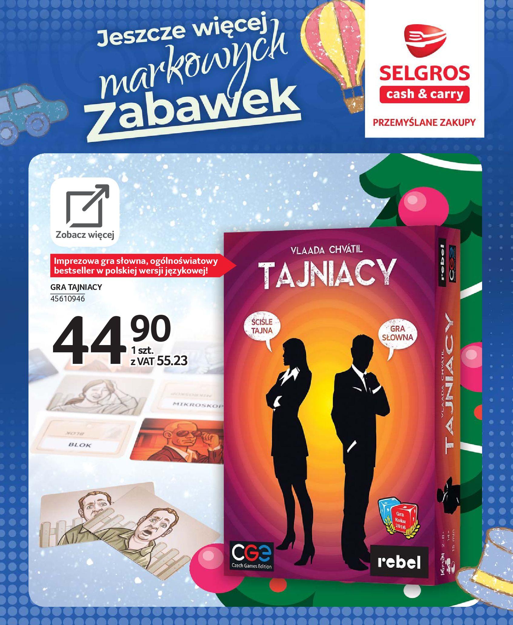 Gazetka Selgros - Katalog zabawek-20.11.2019-24.12.2019-page-85
