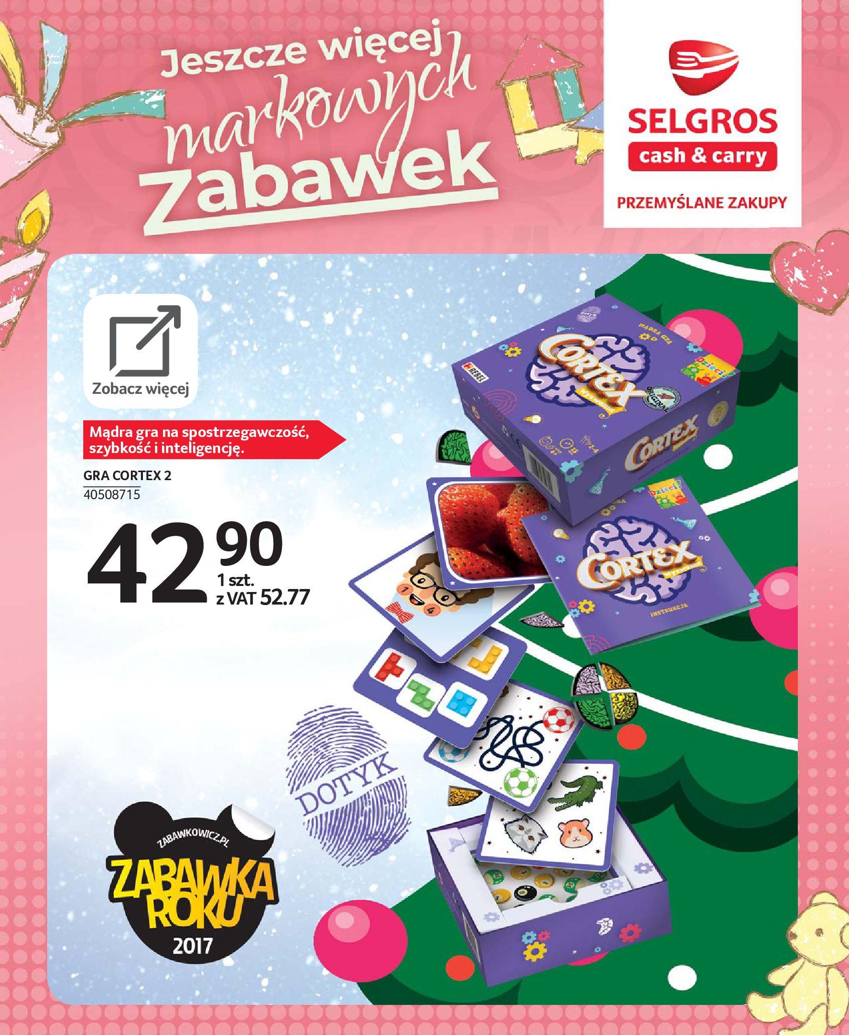 Gazetka Selgros - Katalog zabawek-20.11.2019-24.12.2019-page-86