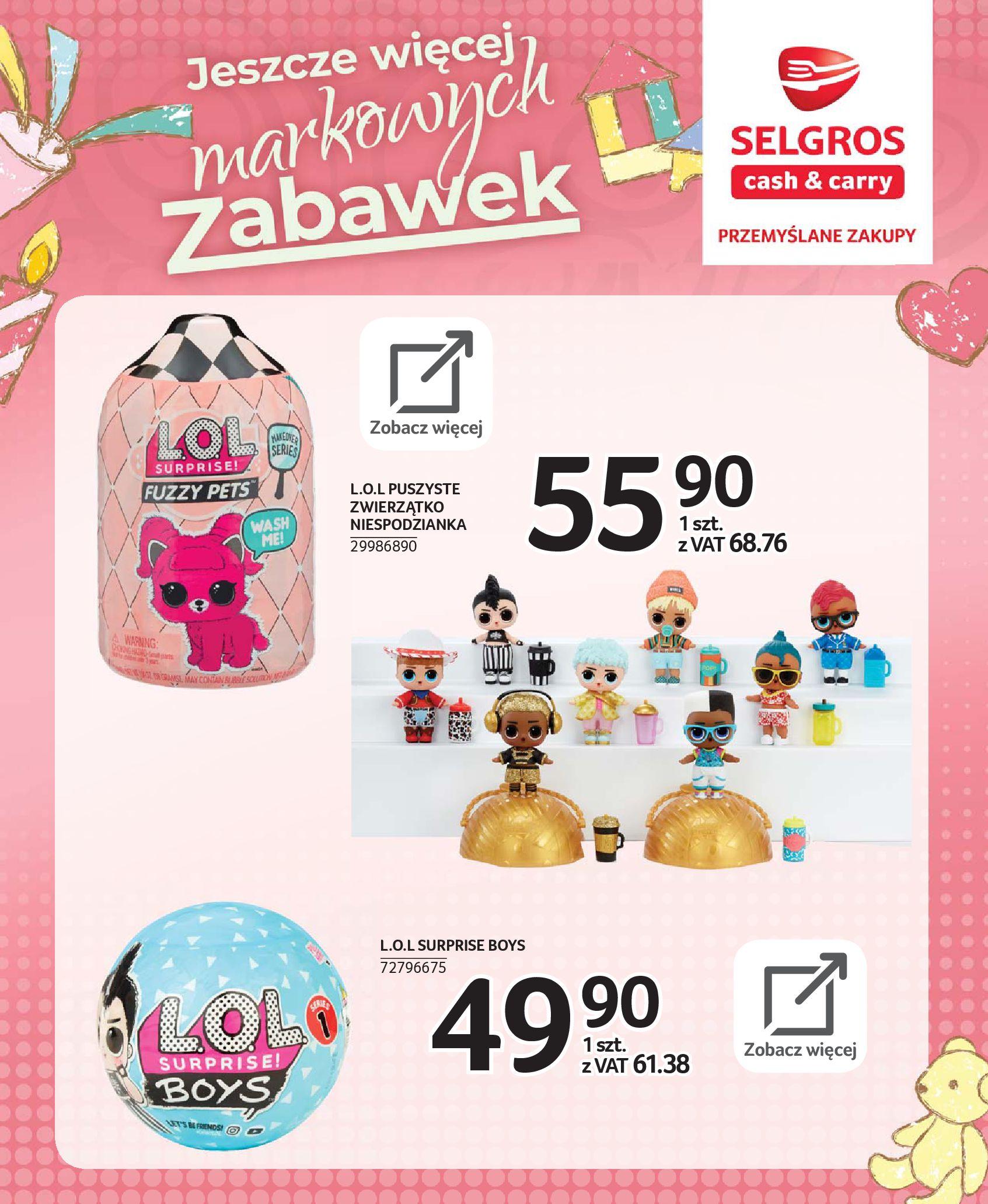 Gazetka Selgros - Katalog zabawek-20.11.2019-24.12.2019-page-10