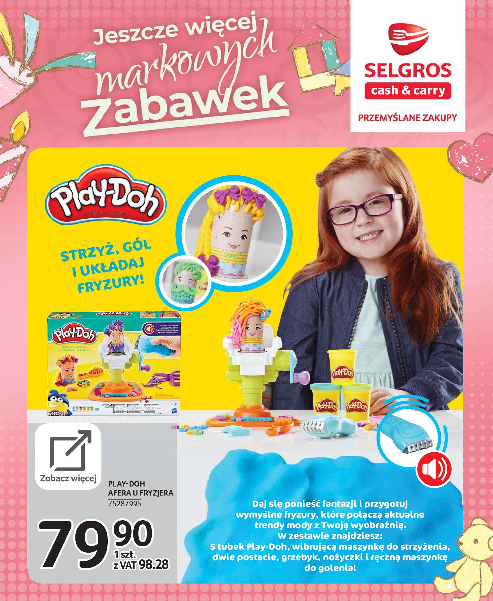 Gazetka Selgros - Katalog zabawek-20.11.2019-24.12.2019-page-99