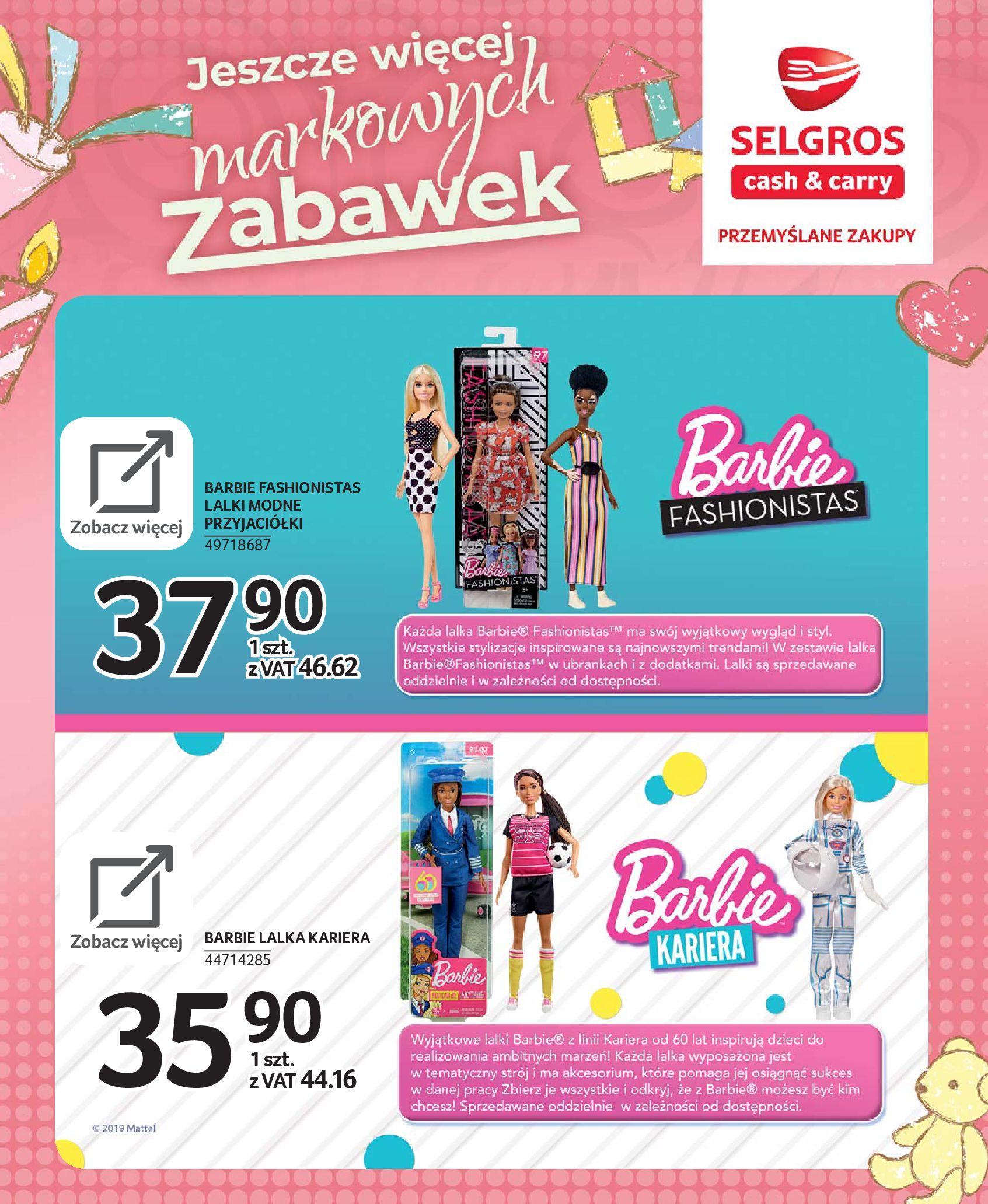 Gazetka Selgros - Katalog zabawek-20.11.2019-24.12.2019-page-14