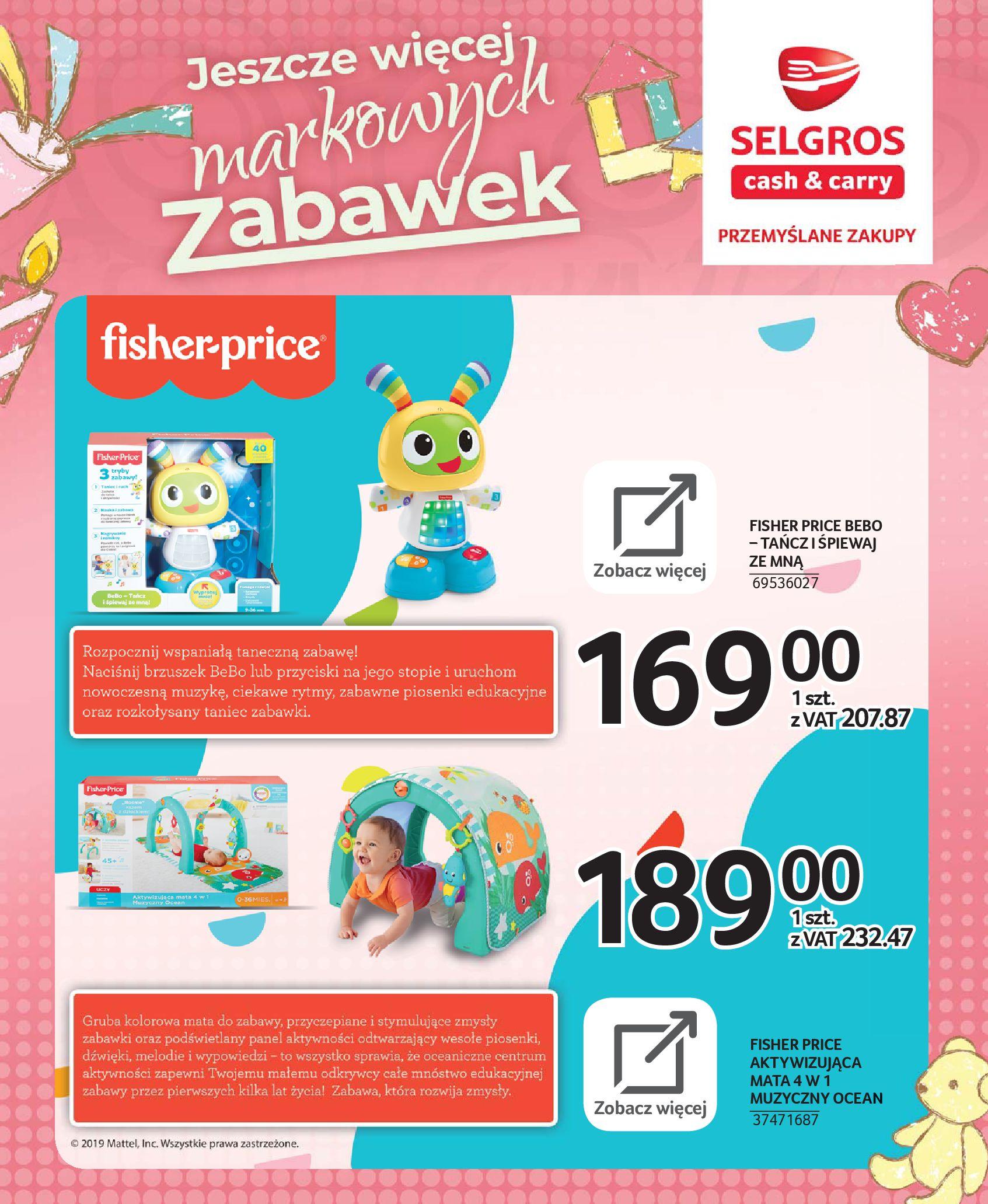 Gazetka Selgros - Katalog zabawek-20.11.2019-24.12.2019-page-3