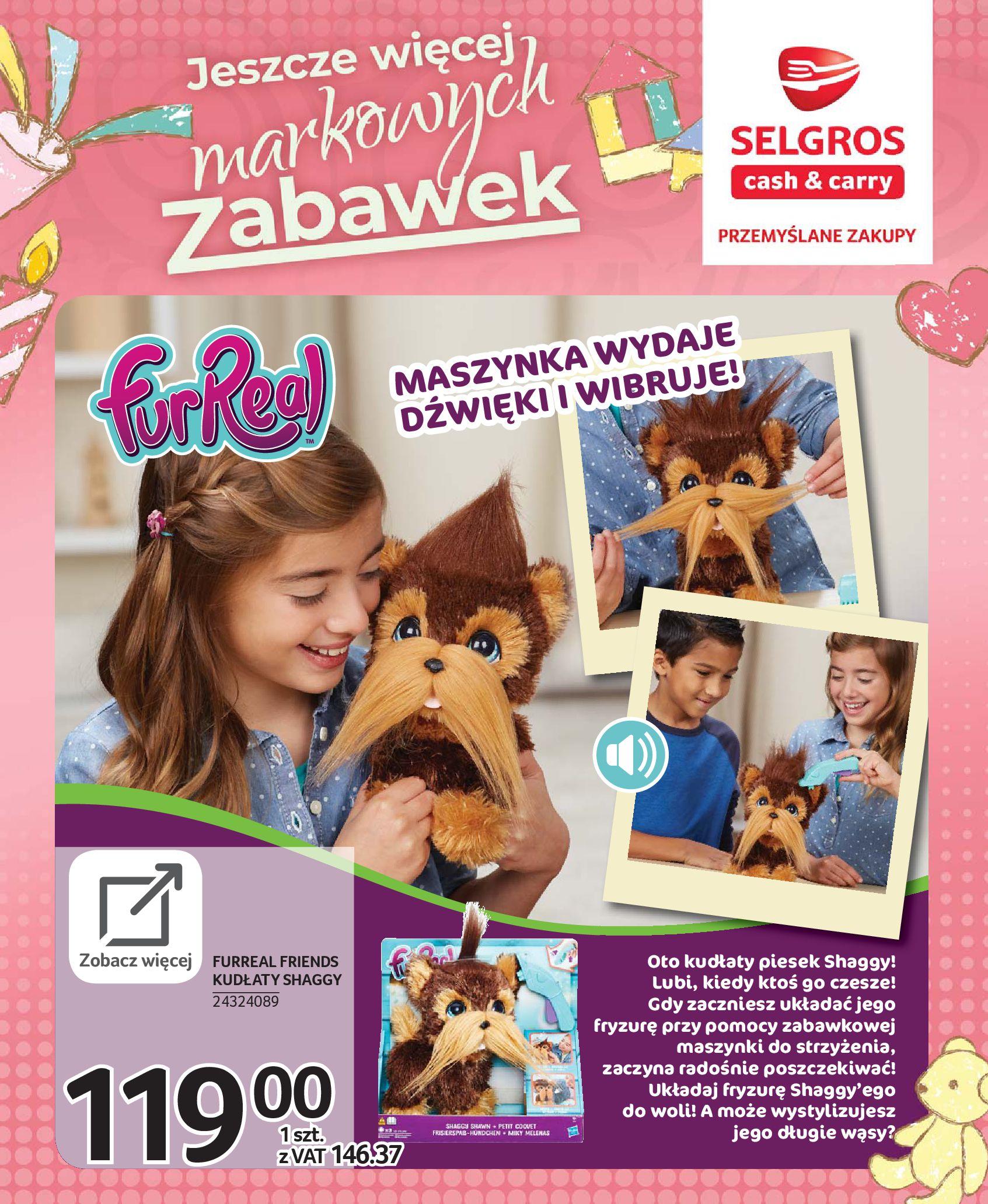 Gazetka Selgros - Katalog zabawek-20.11.2019-24.12.2019-page-22