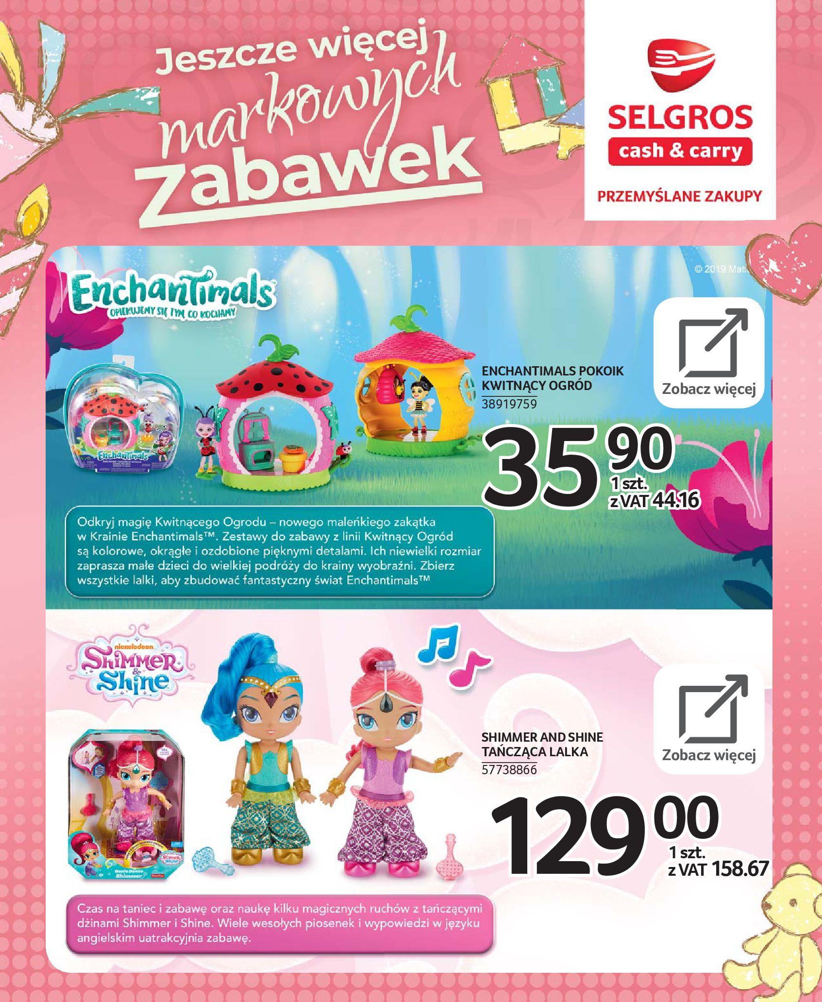 Gazetka Selgros - Katalog zabawek-20.11.2019-24.12.2019-page-26