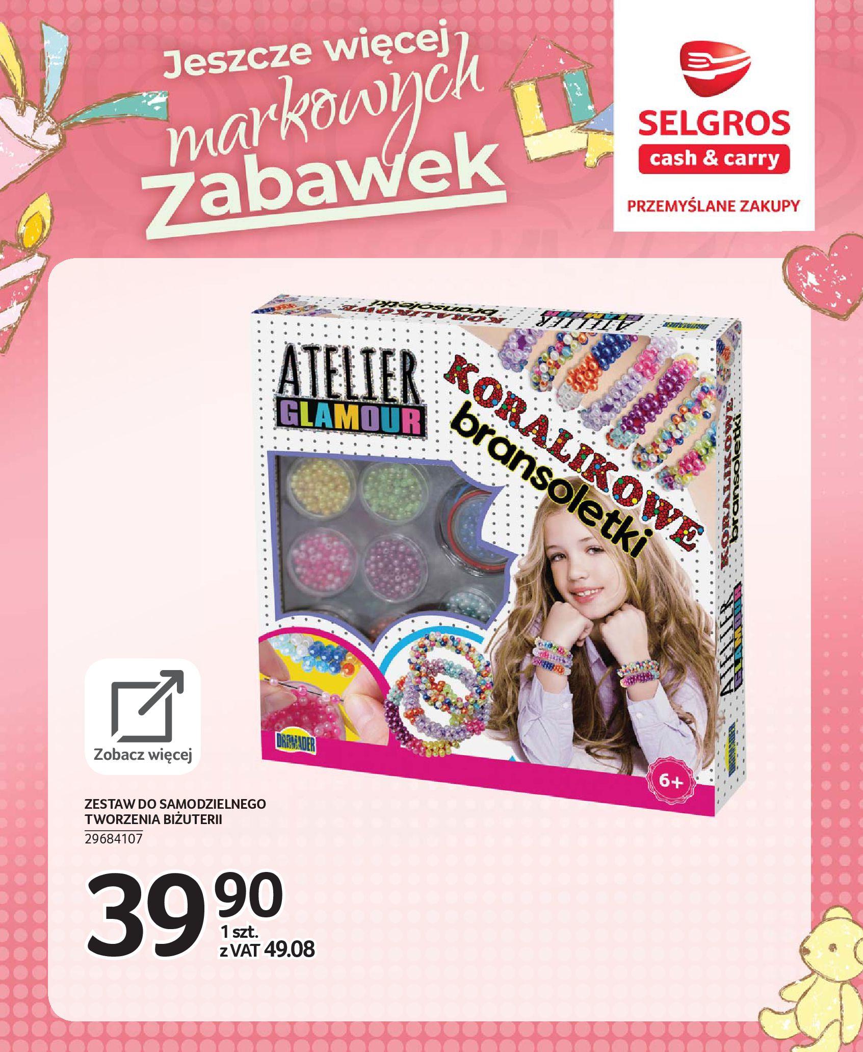 Gazetka Selgros - Katalog zabawek-20.11.2019-24.12.2019-page-28