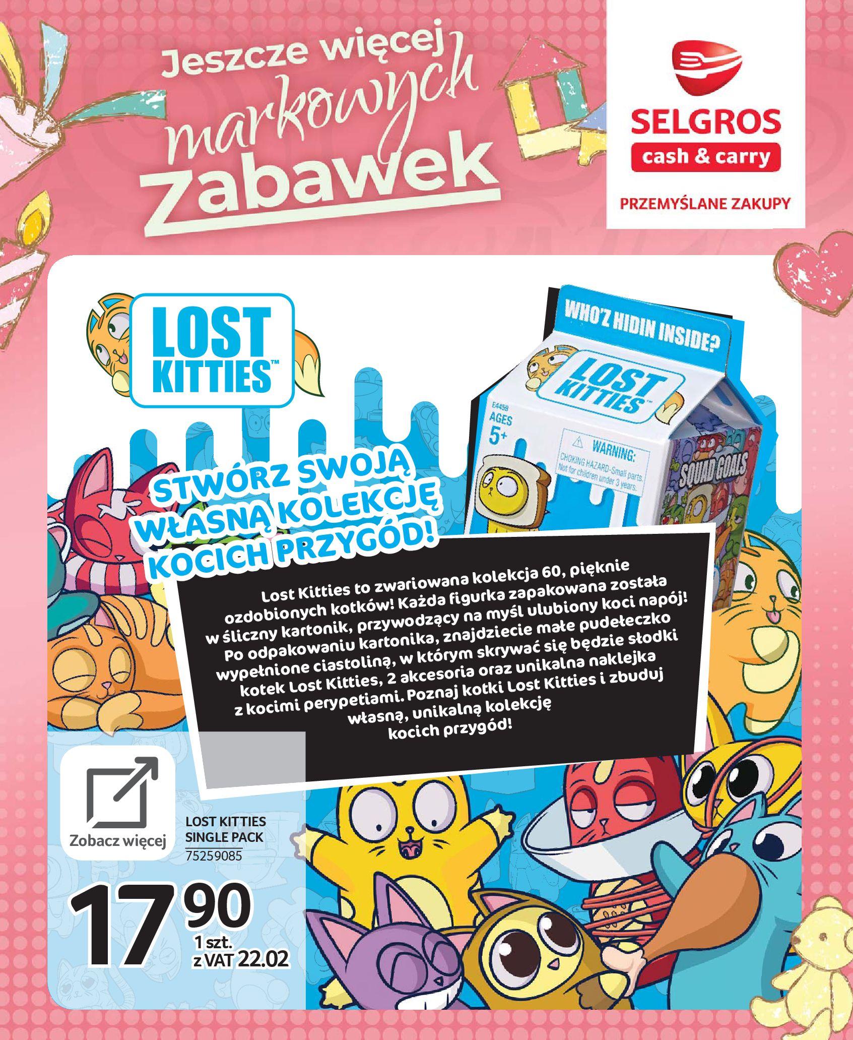 Gazetka Selgros - Katalog zabawek-20.11.2019-24.12.2019-page-32