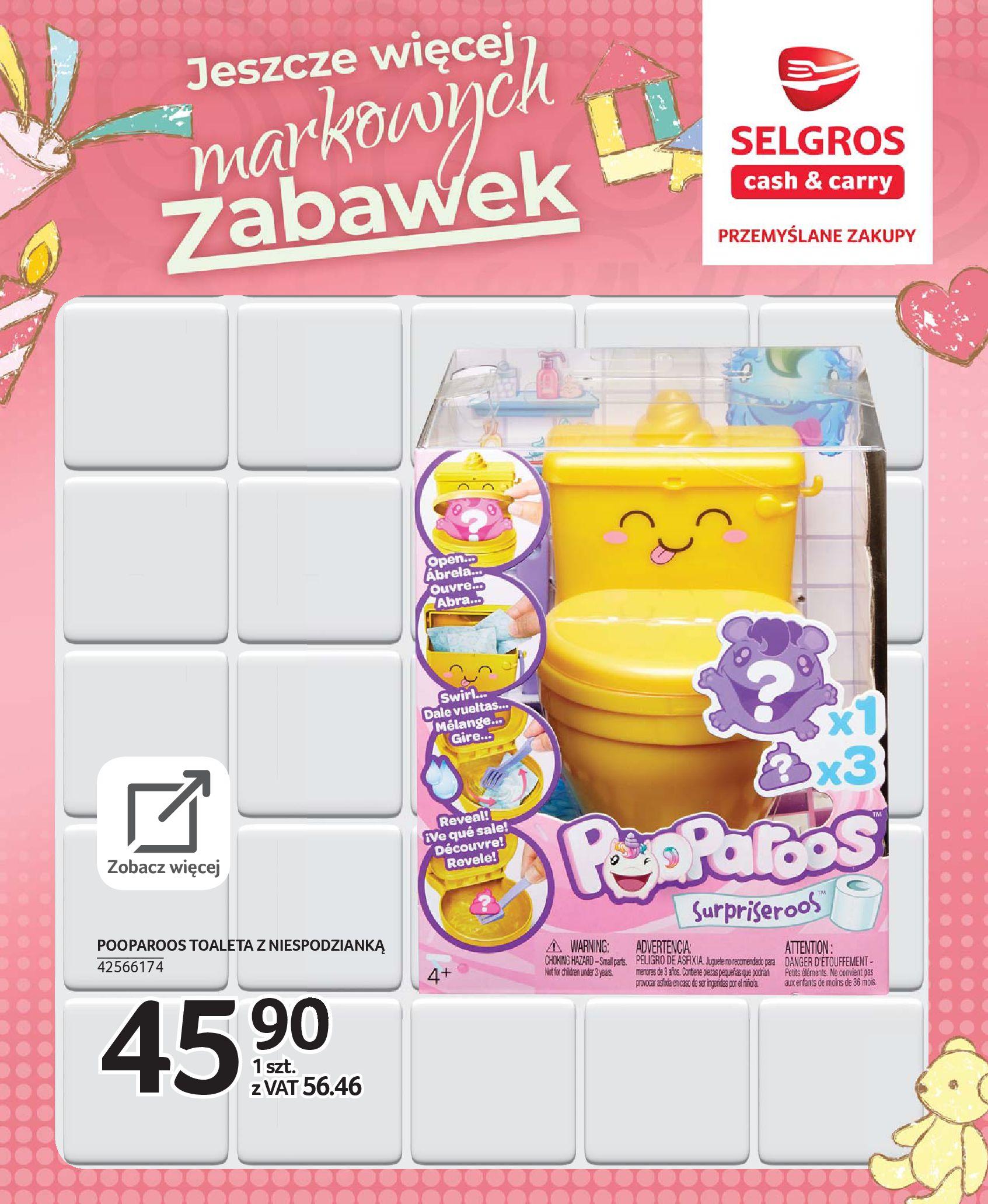 Gazetka Selgros - Katalog zabawek-20.11.2019-24.12.2019-page-34