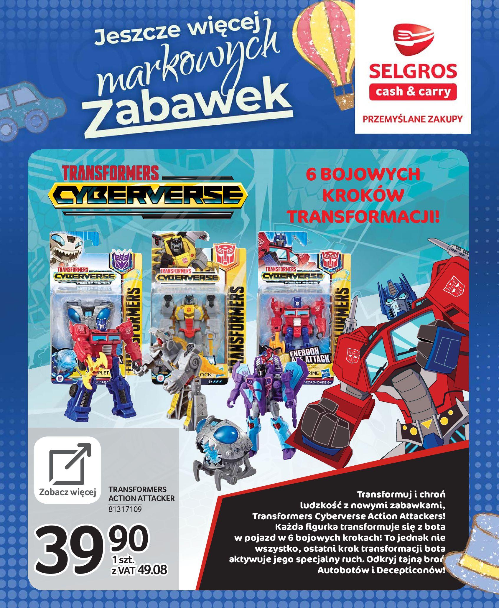 Gazetka Selgros - Katalog zabawek-20.11.2019-24.12.2019-page-36