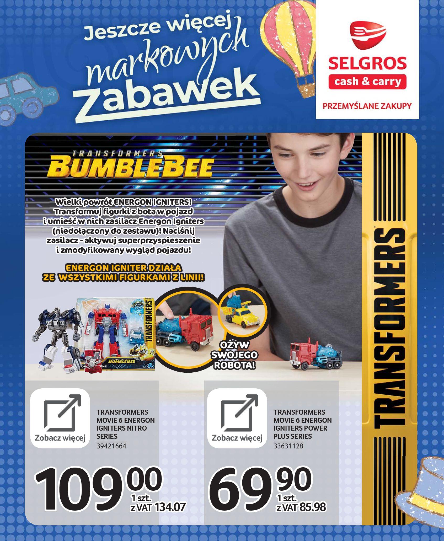 Gazetka Selgros - Katalog zabawek-20.11.2019-24.12.2019-page-37