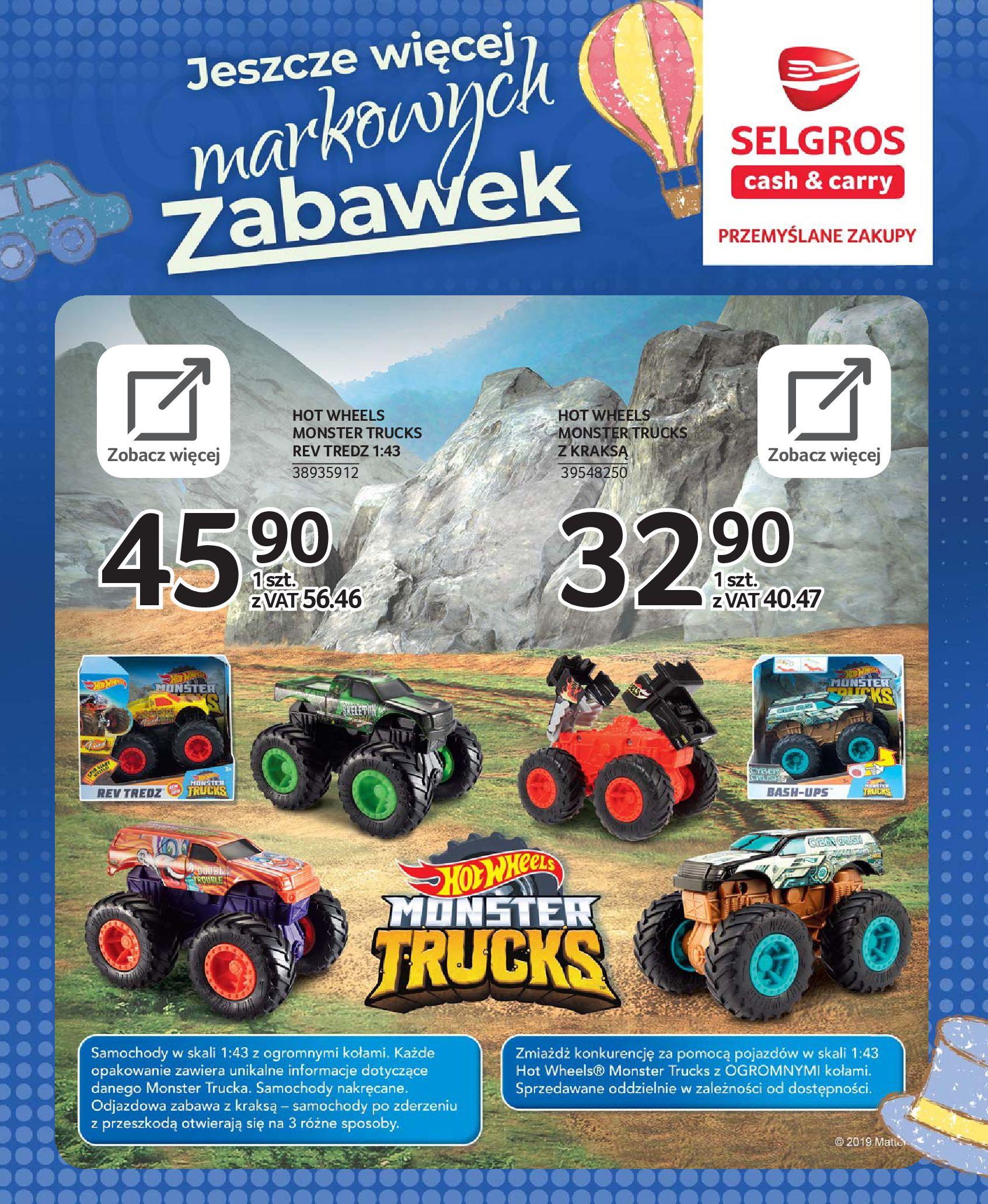 Gazetka Selgros - Katalog zabawek-20.11.2019-24.12.2019-page-38