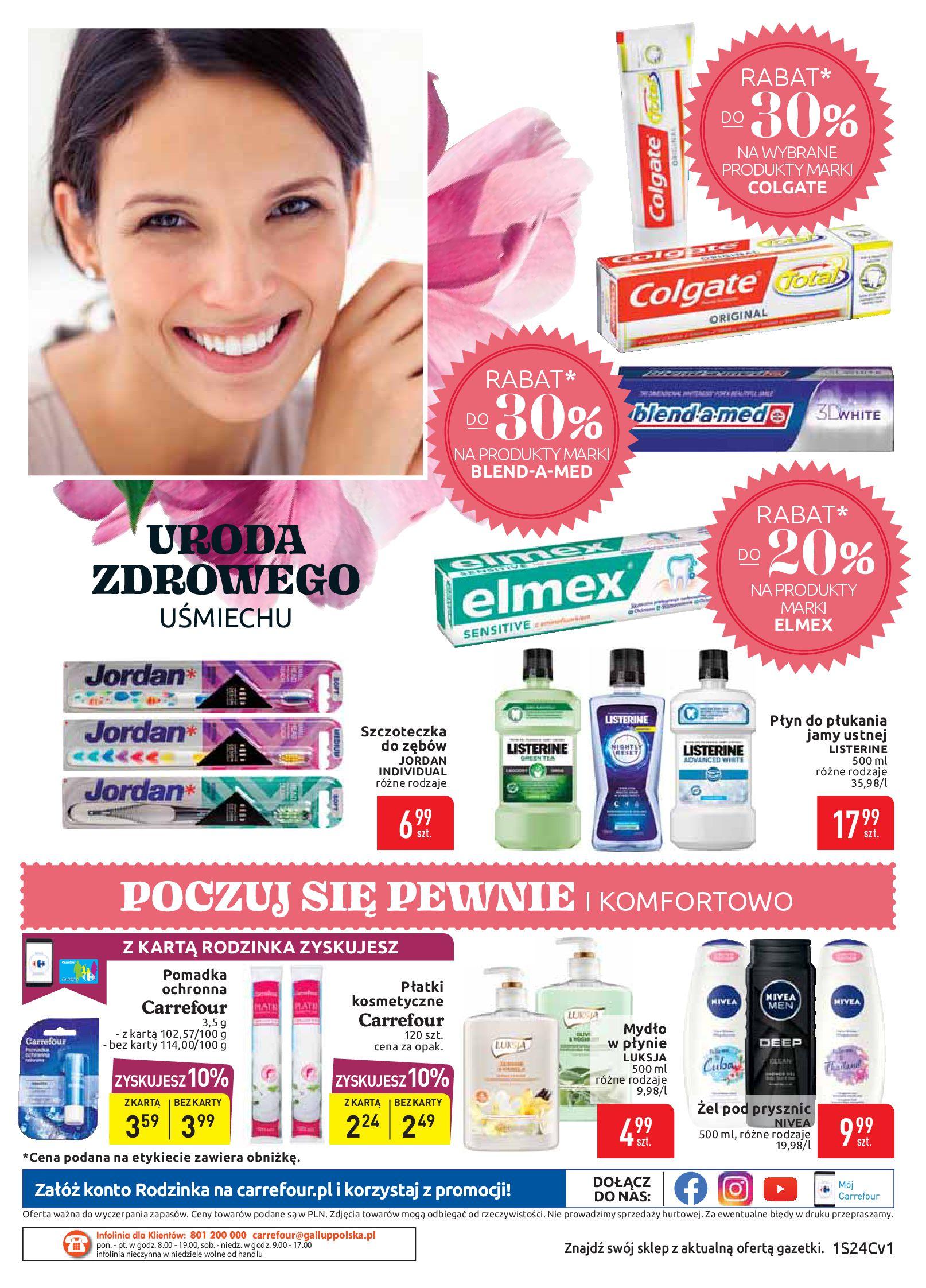 Gazetka Carrefour Market - Letni powiew rabatów-10.06.2019-22.06.2019-page-