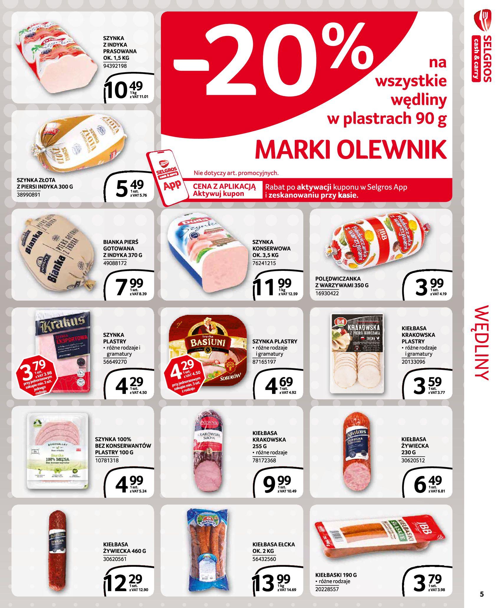 Gazetka Selgros - Extra Oferta-18.11.2020-02.12.2020-page-5