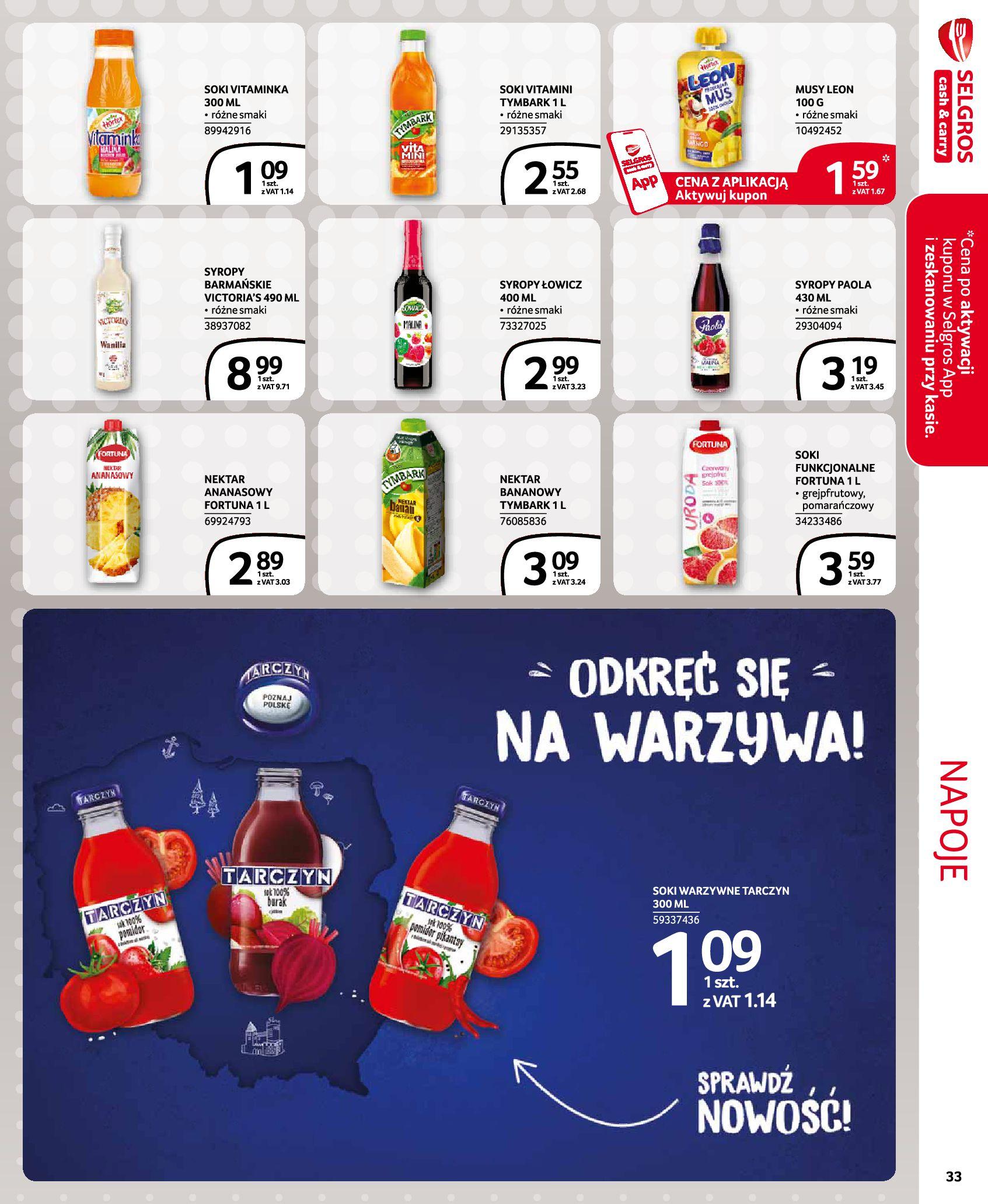 Gazetka Selgros - Extra Oferta-18.11.2020-02.12.2020-page-33