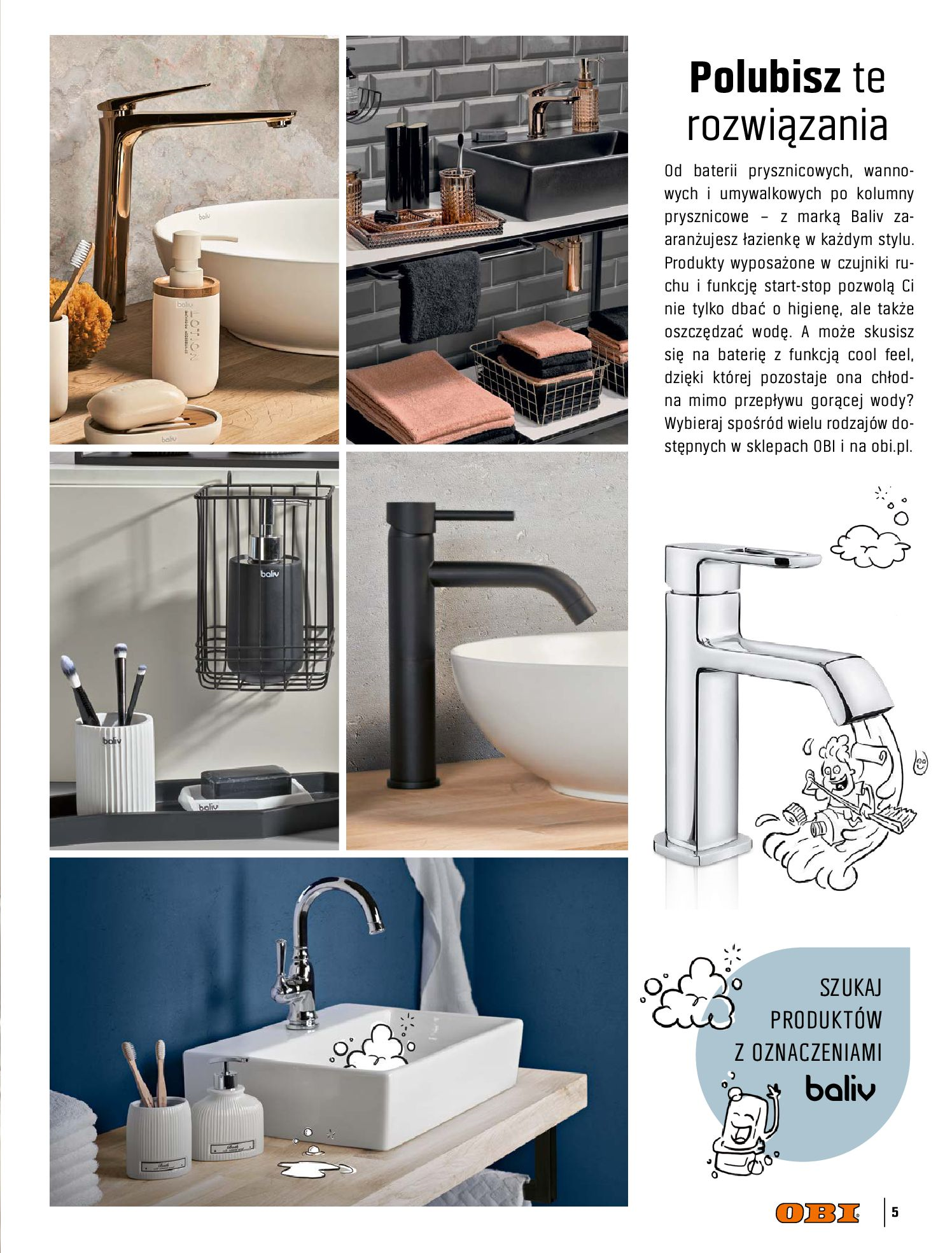 Gazetka OBI: Katalog OBI - Łazienka Trendy 2021 2021-05-25 page-5