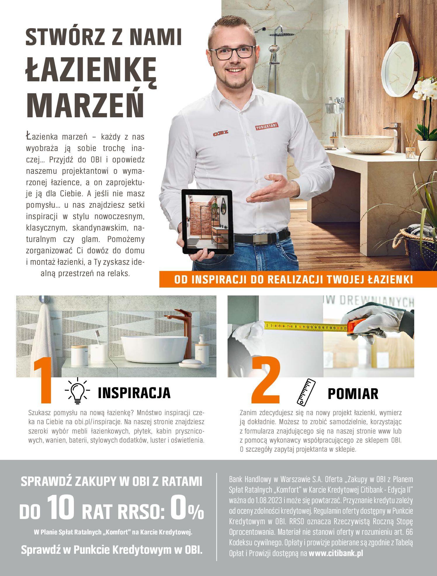 Gazetka OBI: Katalog OBI - Łazienka Trendy 2021 2021-05-25 page-6