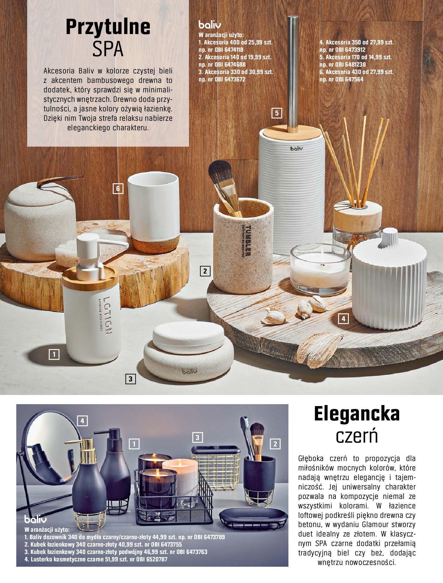 Gazetka OBI: Katalog OBI - Łazienka Trendy 2021 2021-05-25 page-64