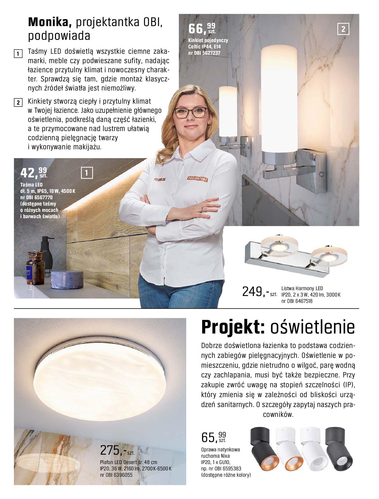 Gazetka OBI: Katalog OBI - Łazienka Trendy 2021 2021-05-25 page-66