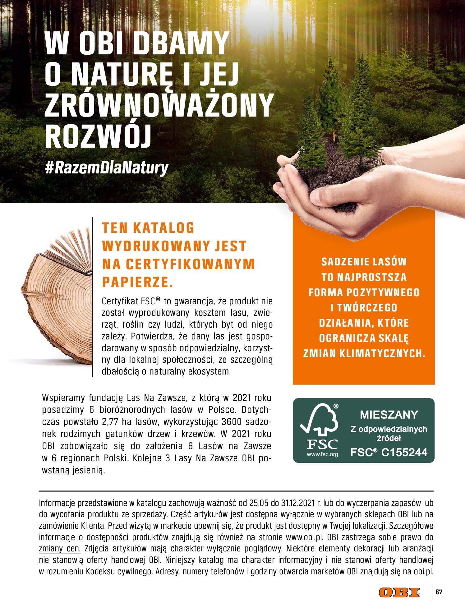 Gazetka OBI: Katalog OBI - Łazienka Trendy 2021 2021-05-25 page-67