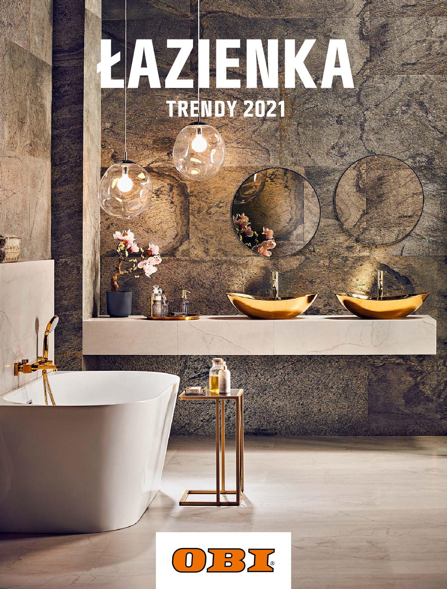 Gazetka OBI: Katalog OBI - Łazienka Trendy 2021 2021-05-25 page-1