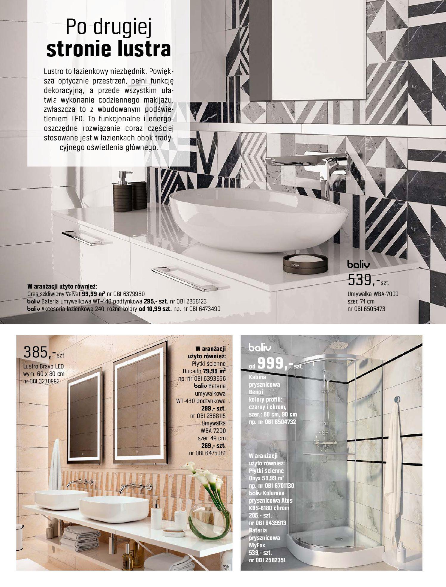 Gazetka OBI: Katalog OBI - Łazienka Trendy 2021 2021-05-25 page-26