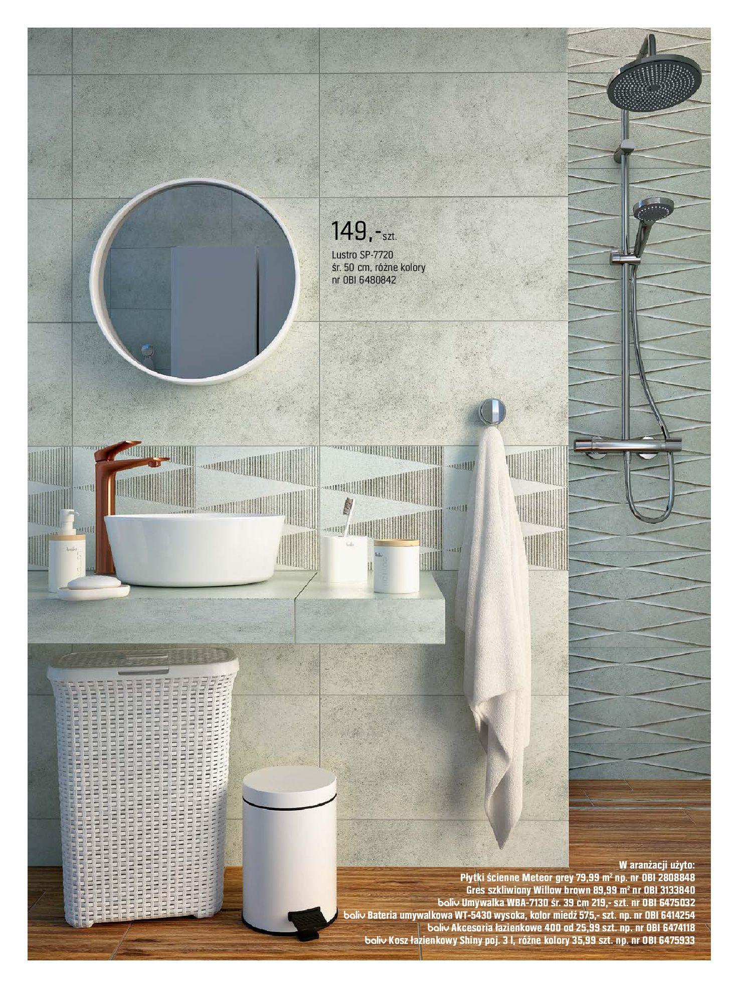 Gazetka OBI: Katalog OBI - Łazienka Trendy 2021 2021-05-25 page-28