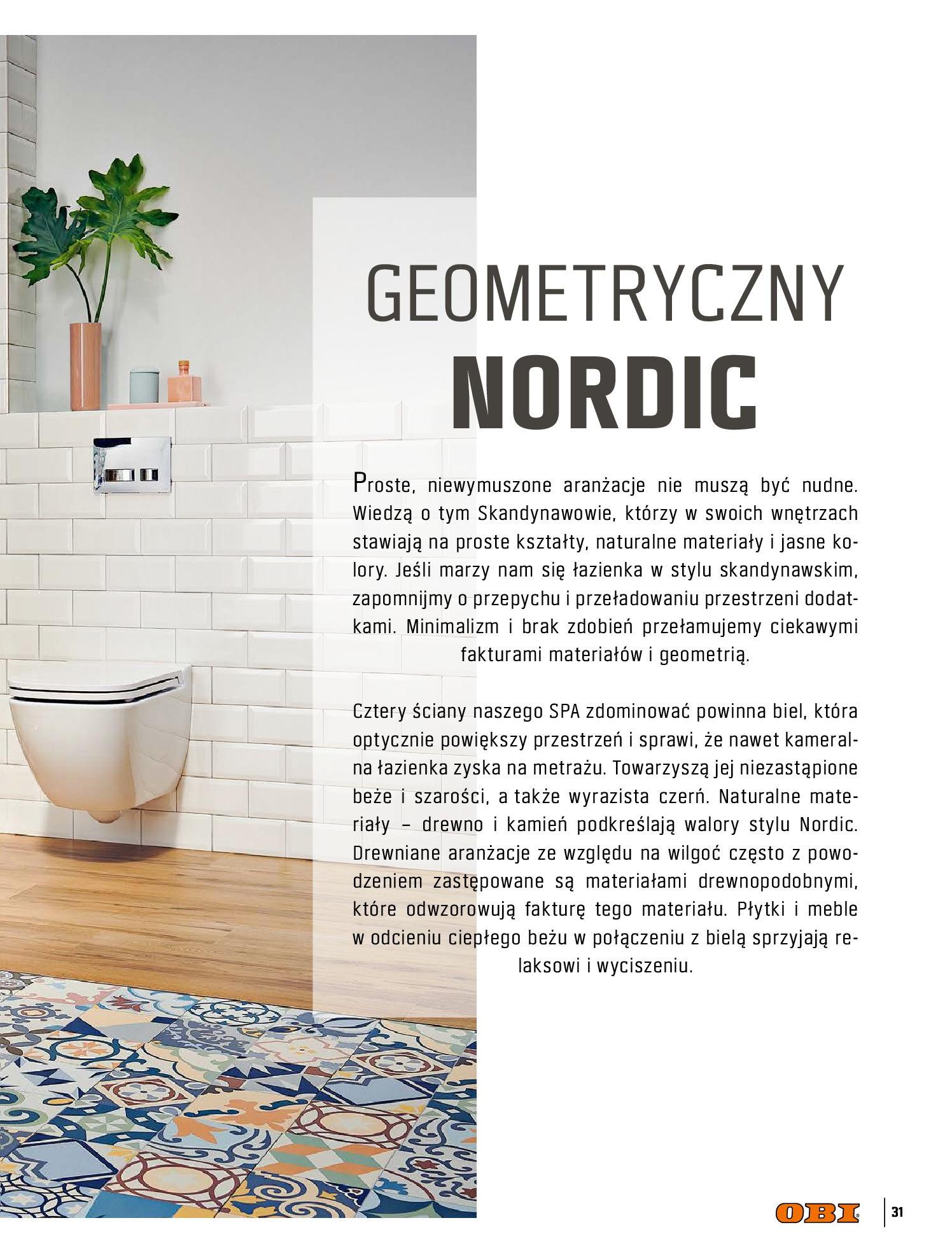 Gazetka OBI: Katalog OBI - Łazienka Trendy 2021 2021-05-25 page-31