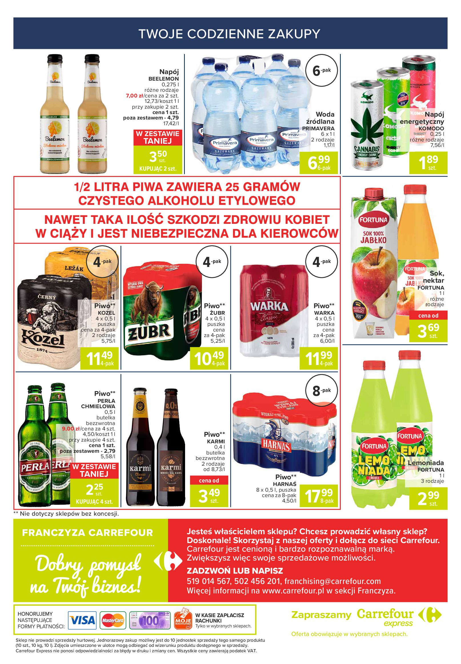 Gazetka Carrefour Express: Gazetka Carrefour Express 20-26.07 2021-07-20 page-6