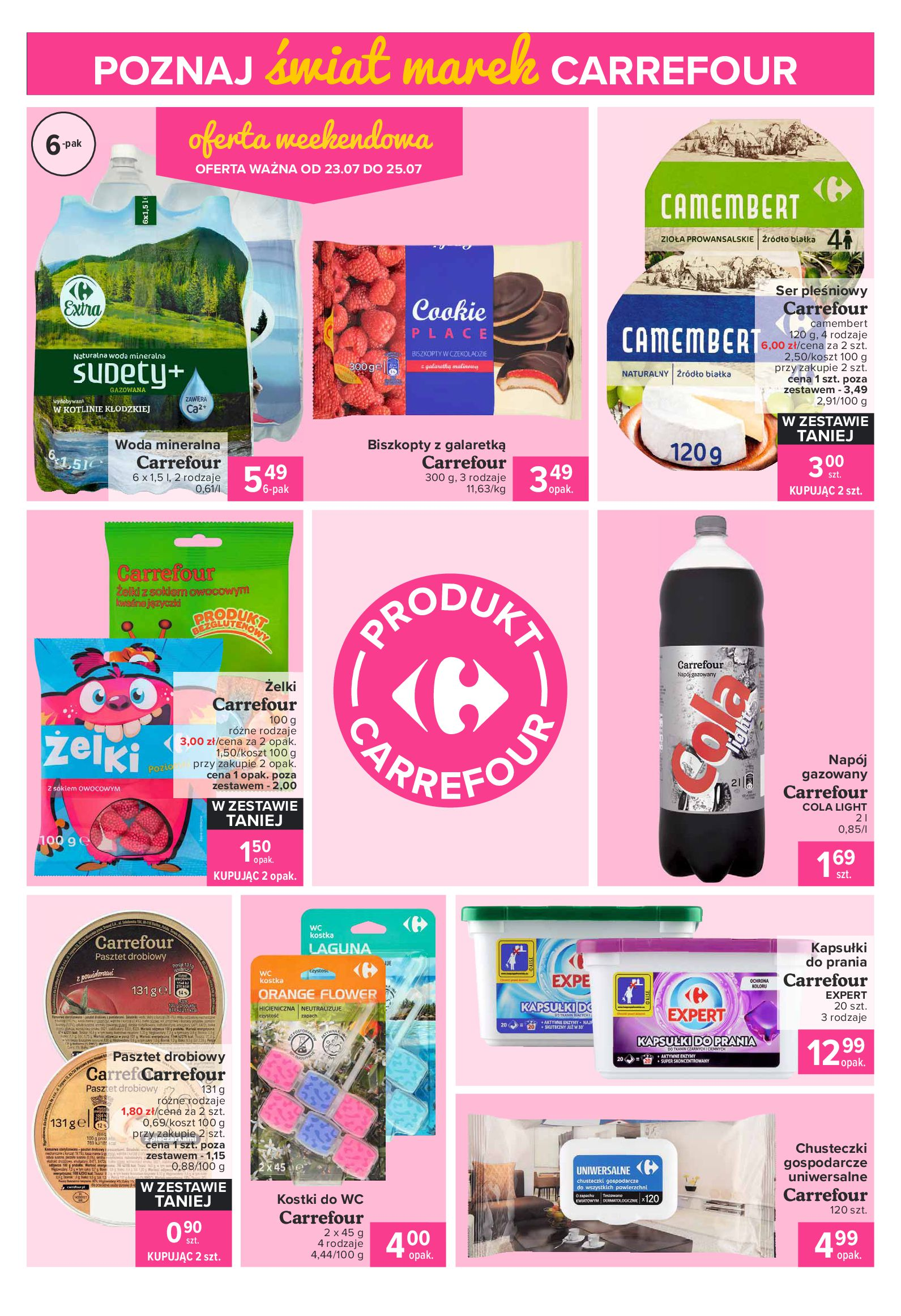 Gazetka Carrefour Express: Gazetka Carrefour Express 20-26.07 2021-07-20 page-4