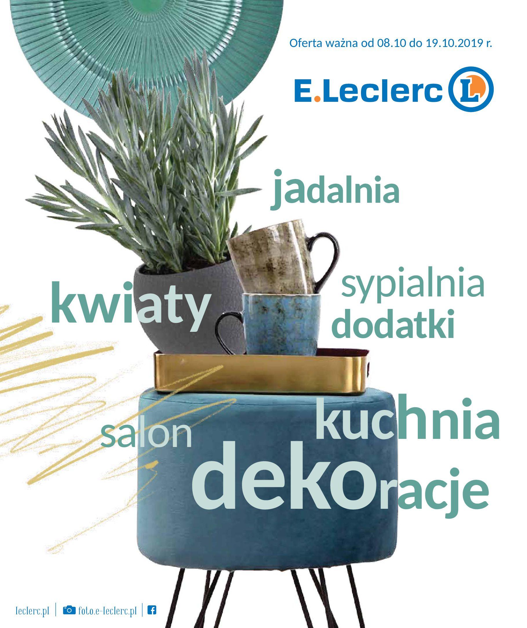 Gazetka E.Leclerc - Oferta promocyjna-07.10.2019-19.10.2019-page-1