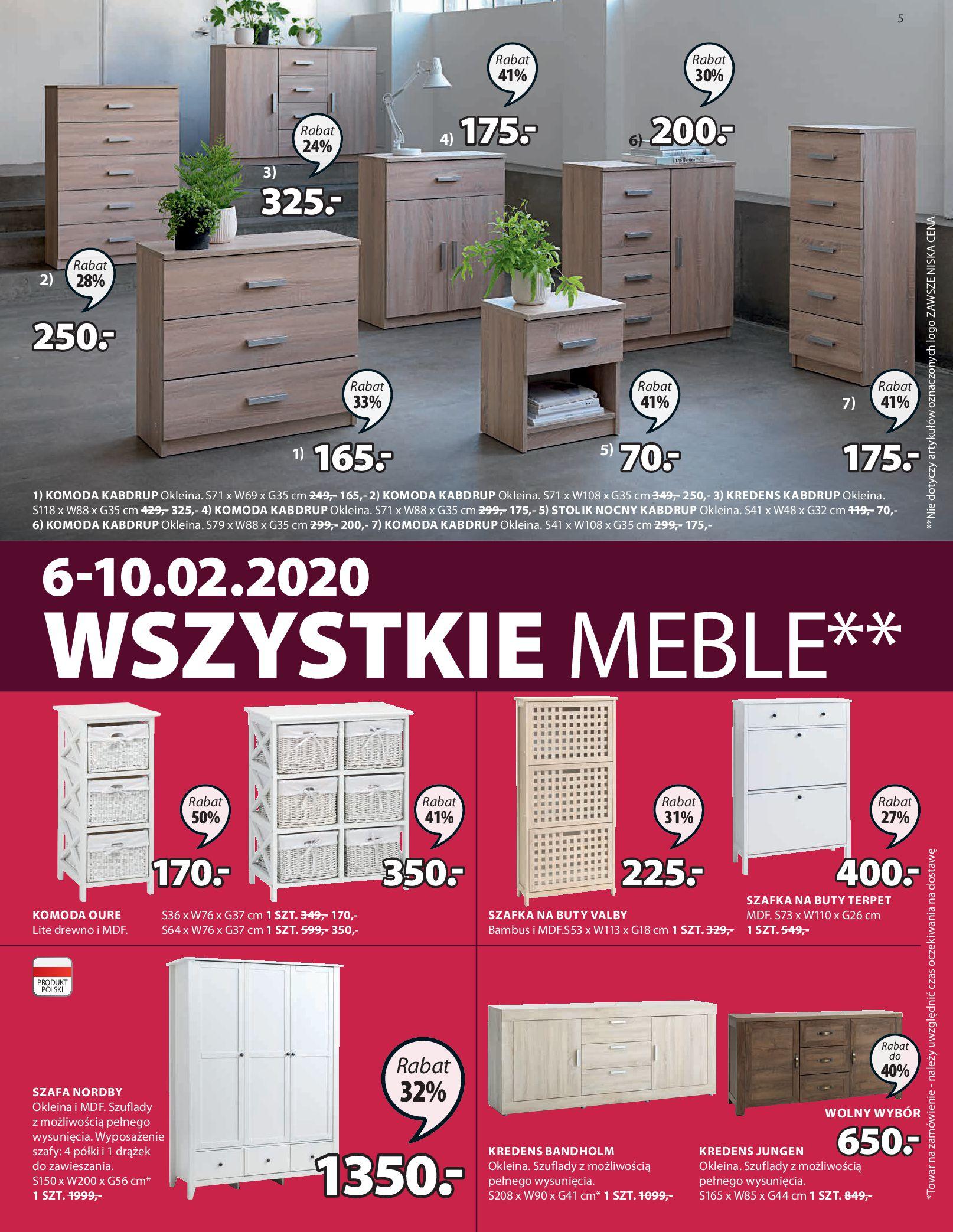 Gazetka Jysk - Oferta tygodnia-05.02.2020-19.02.2020-page-5