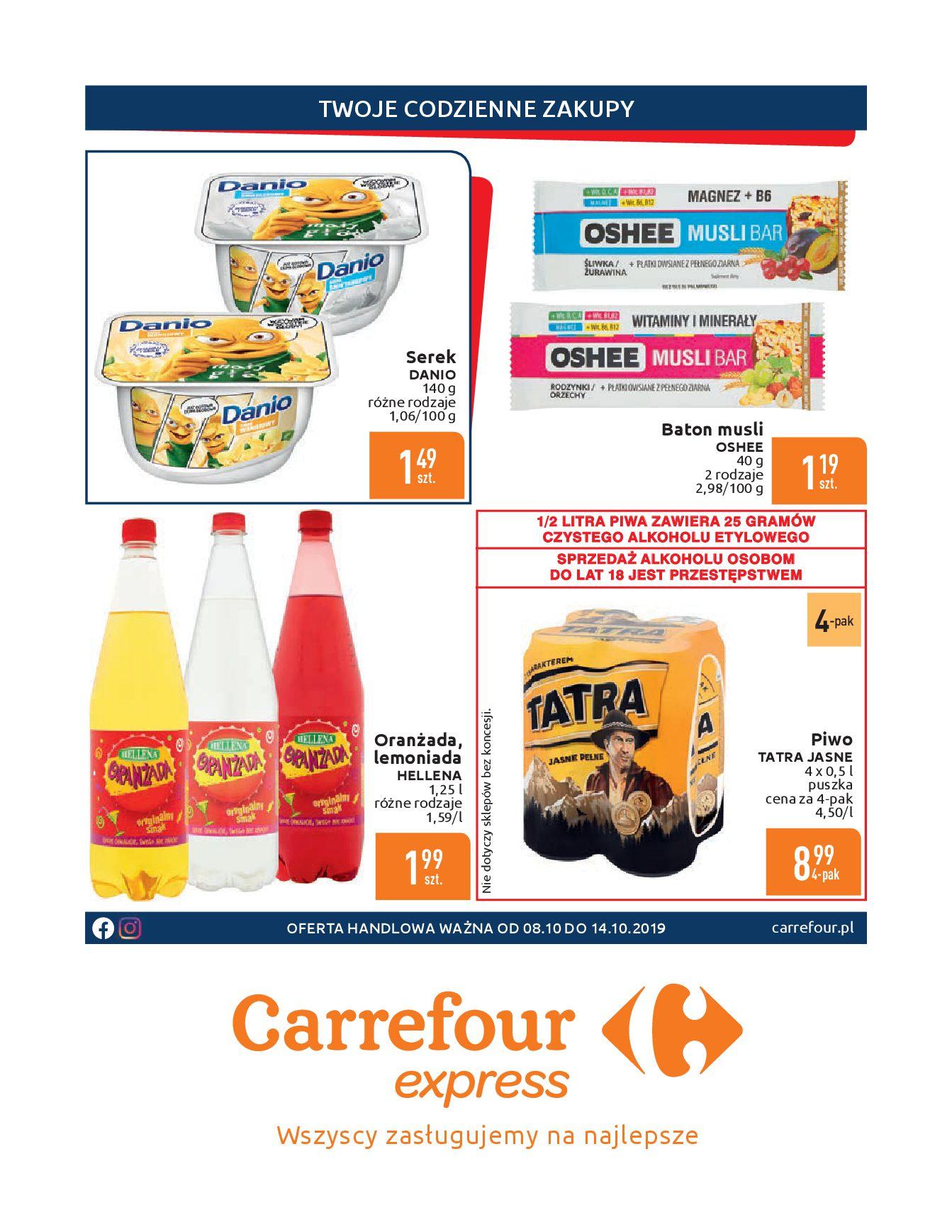Gazetka Carrefour Express - Gdy zakupy rosną, to ceny maleją ekspresowo-07.10.2019-14.10.2019-page-2