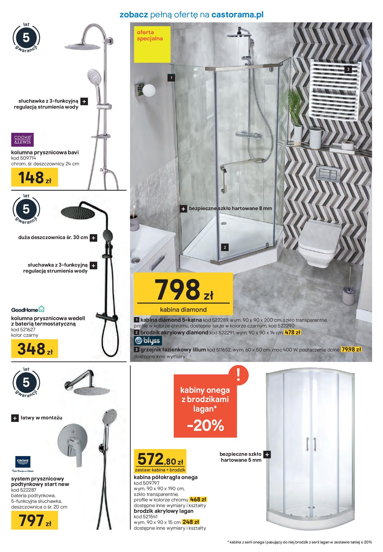 Gazetka Castorama - Akcja łazienka-21.01.2020-16.02.2020-page-5