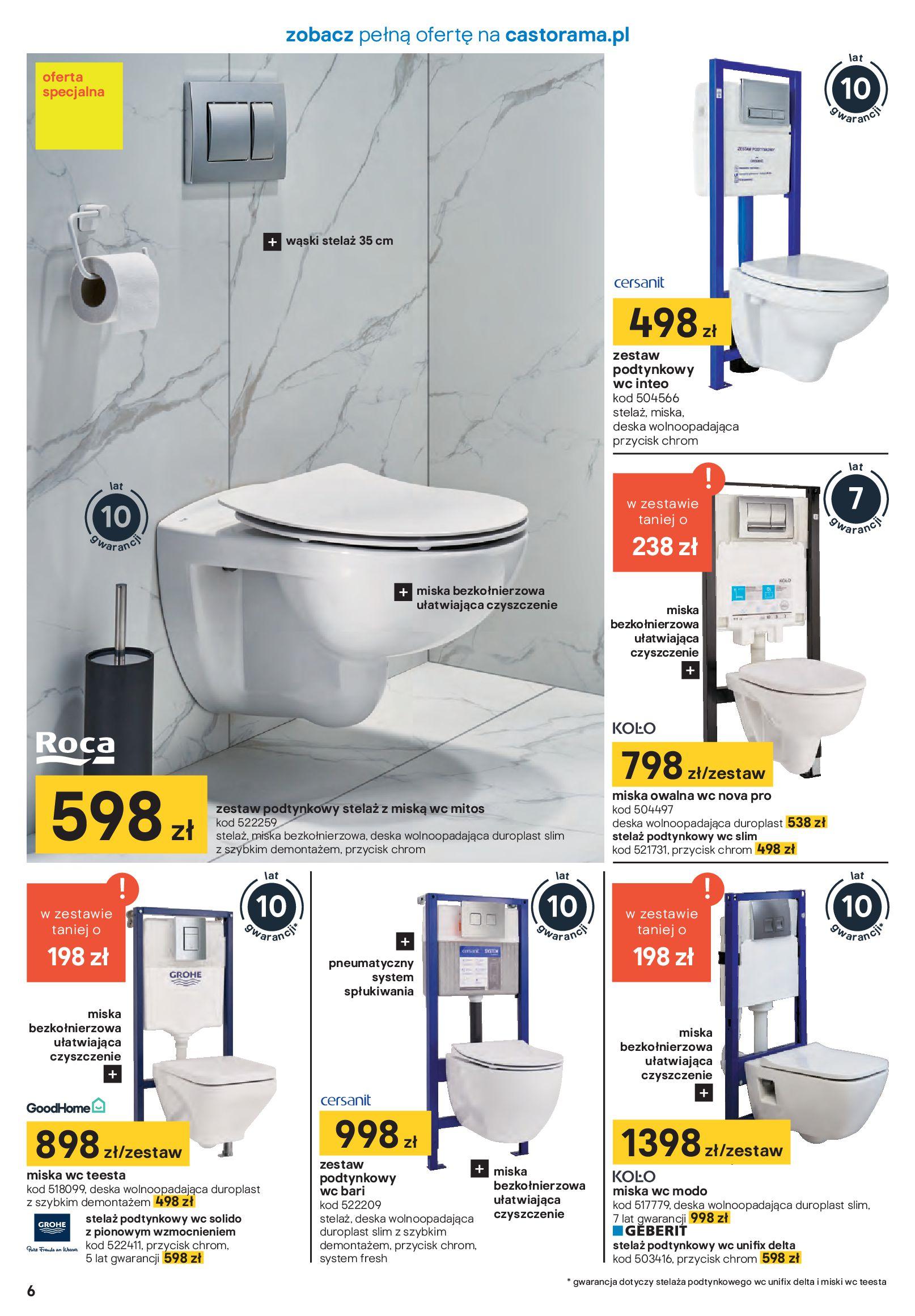 Gazetka Castorama - Akcja łazienka-21.01.2020-16.02.2020-page-6