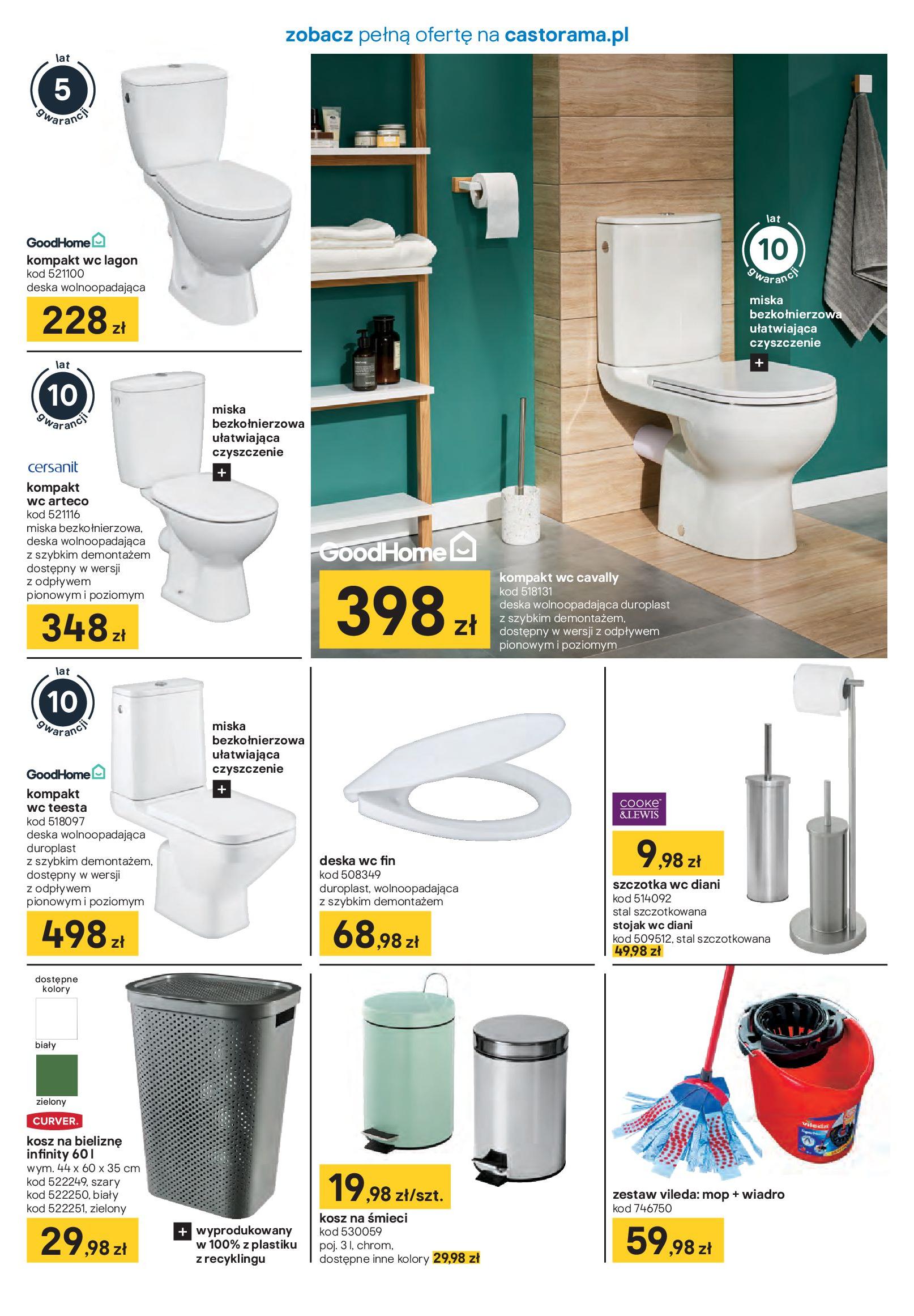 Gazetka Castorama - Akcja łazienka-21.01.2020-16.02.2020-page-7