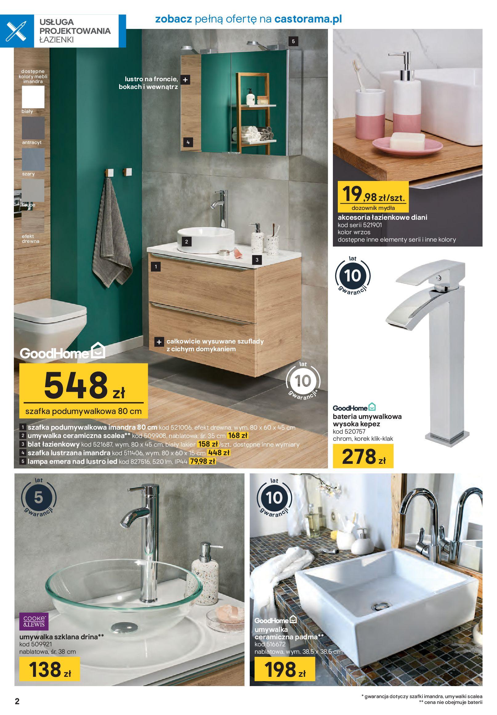 Gazetka Castorama - Akcja łazienka-21.01.2020-16.02.2020-page-2
