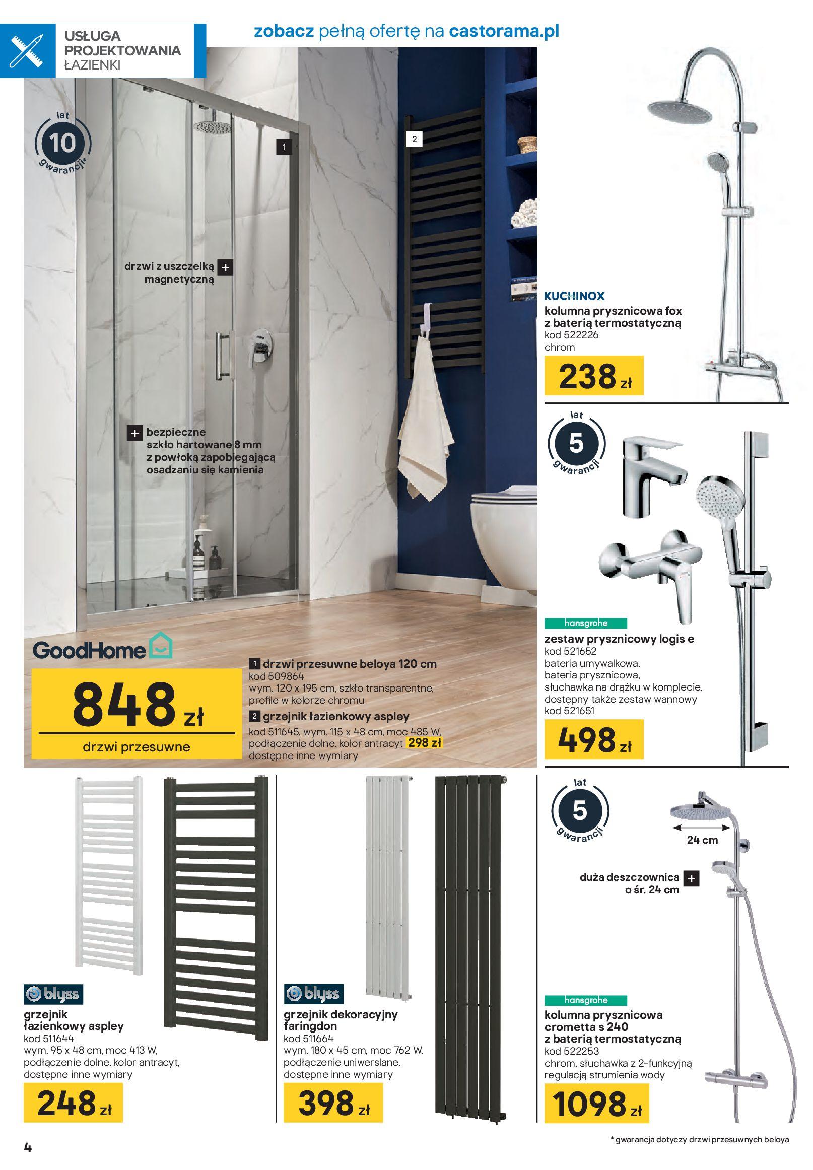 Gazetka Castorama - Akcja łazienka-21.01.2020-16.02.2020-page-4