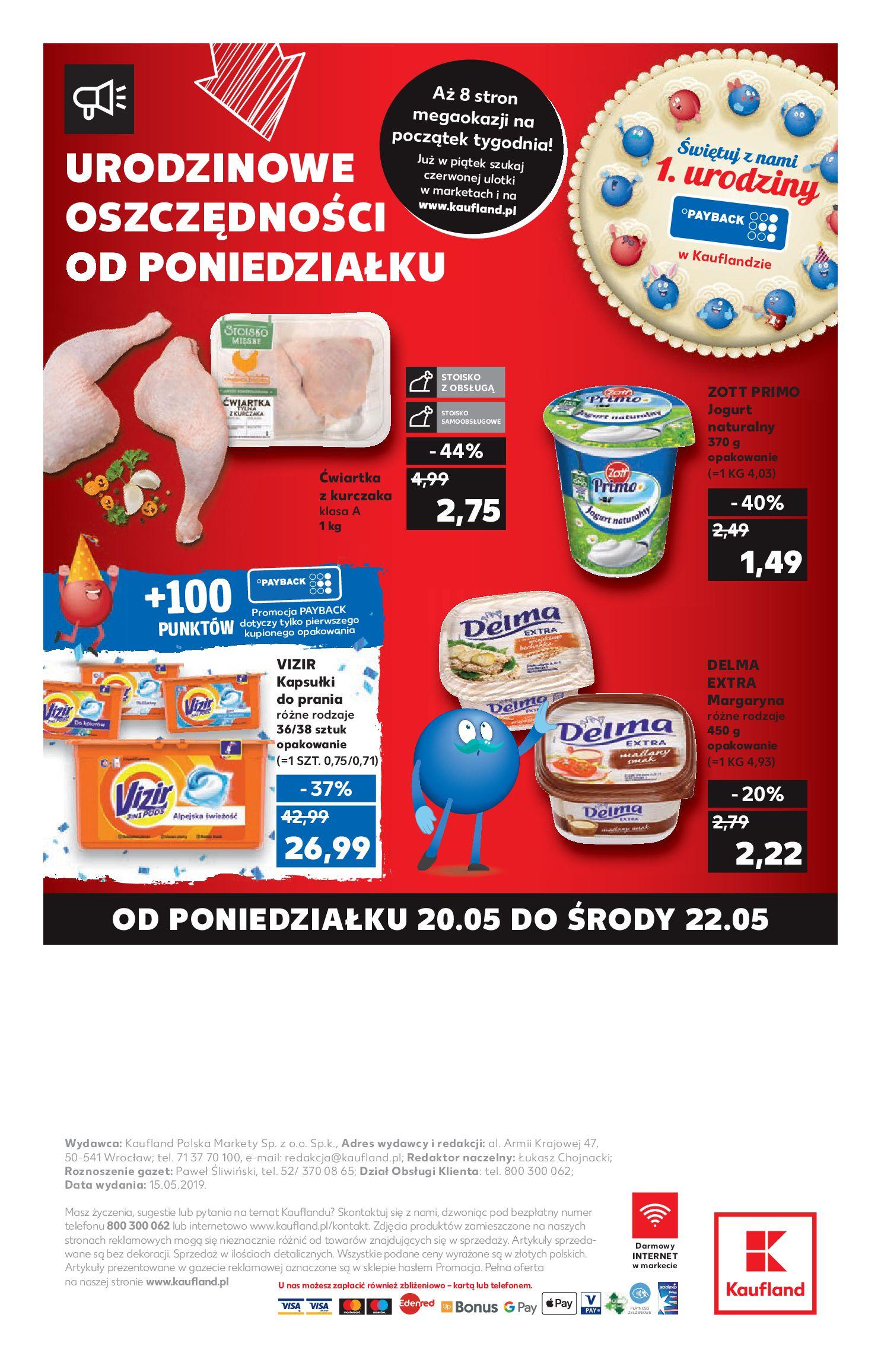 Gazetka Kaufland - Na dobry tydzień-15.05.2019-22.05.2019-page-