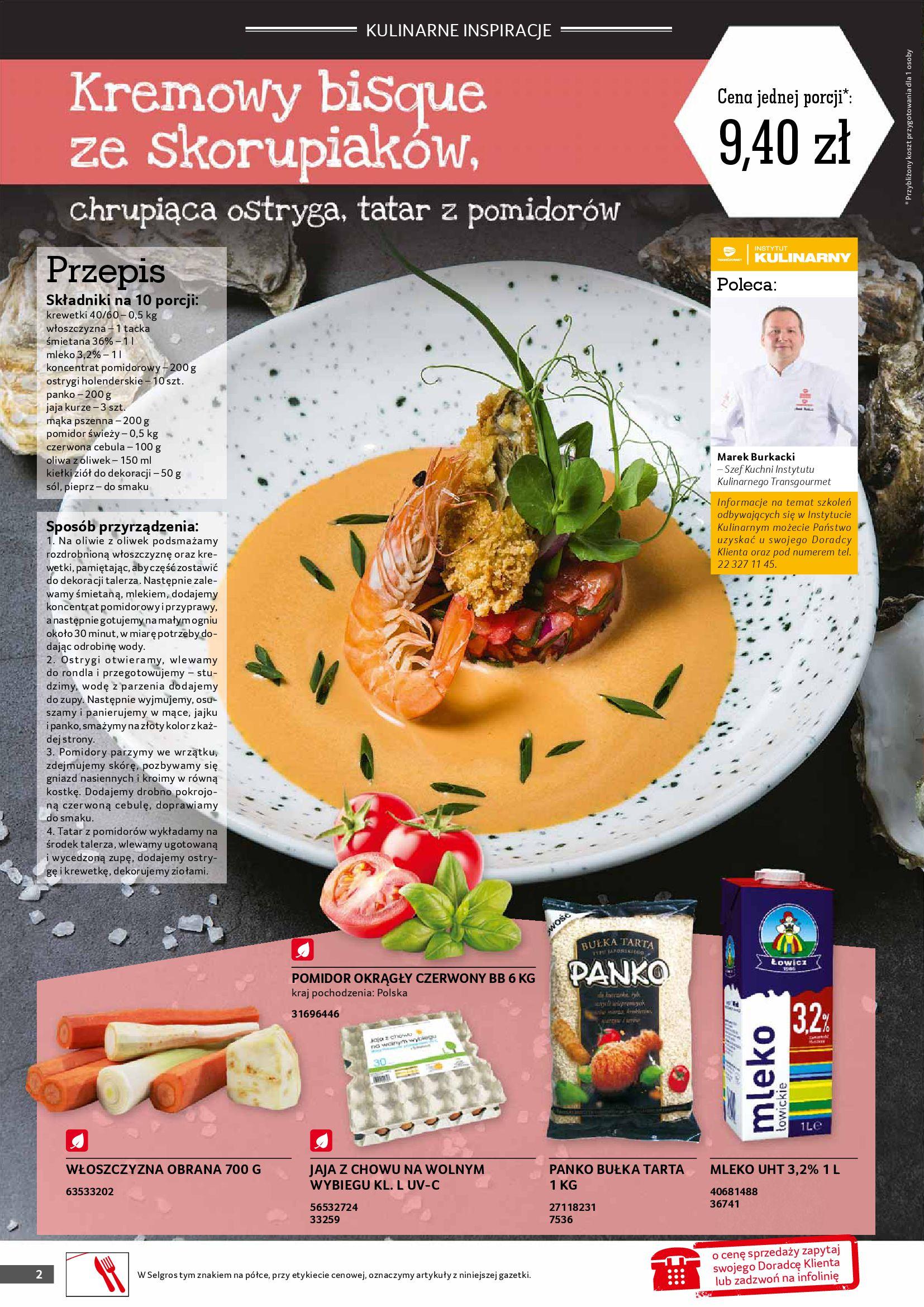 Gazetka Selgros: Gazetka Selgros - Gastronomia 2021-08-01 page-2