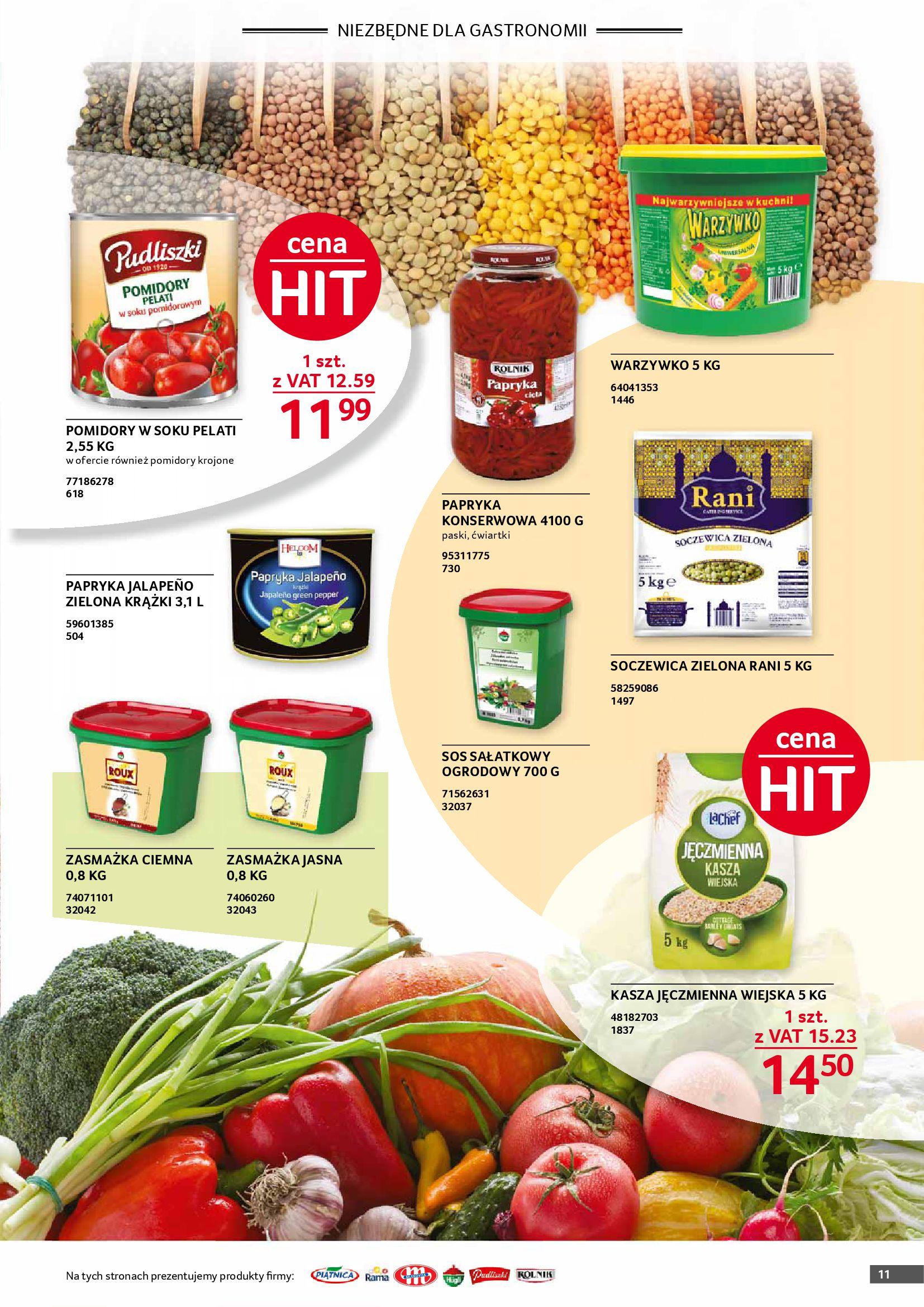 Gazetka Selgros: Gazetka Selgros - Gastronomia 2021-08-01 page-11
